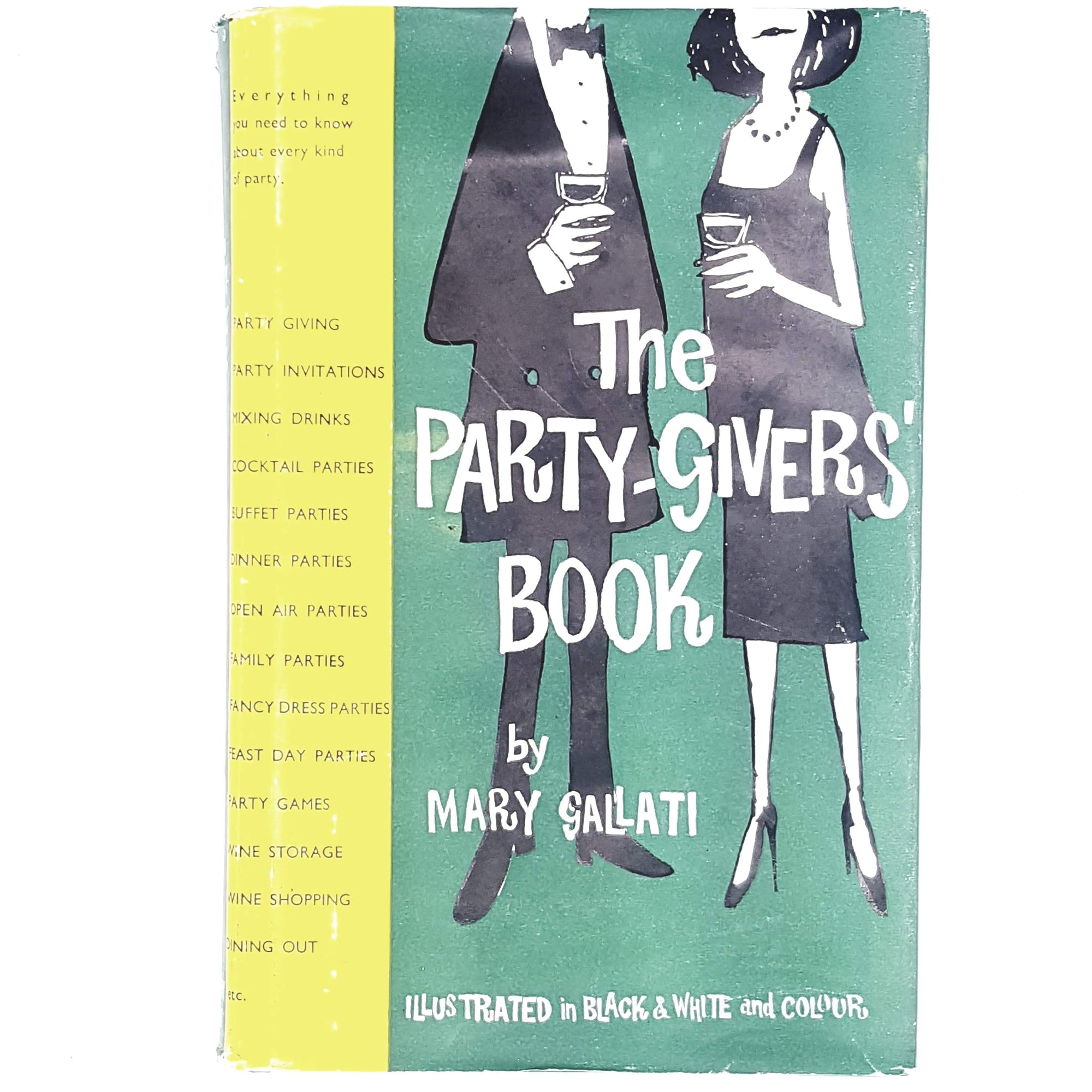 Illustrated The Party-Giver's Book 1959