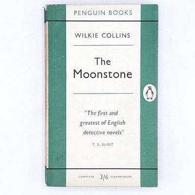 First Edition Penguin Wilkie Collins's The Moonstone 1955