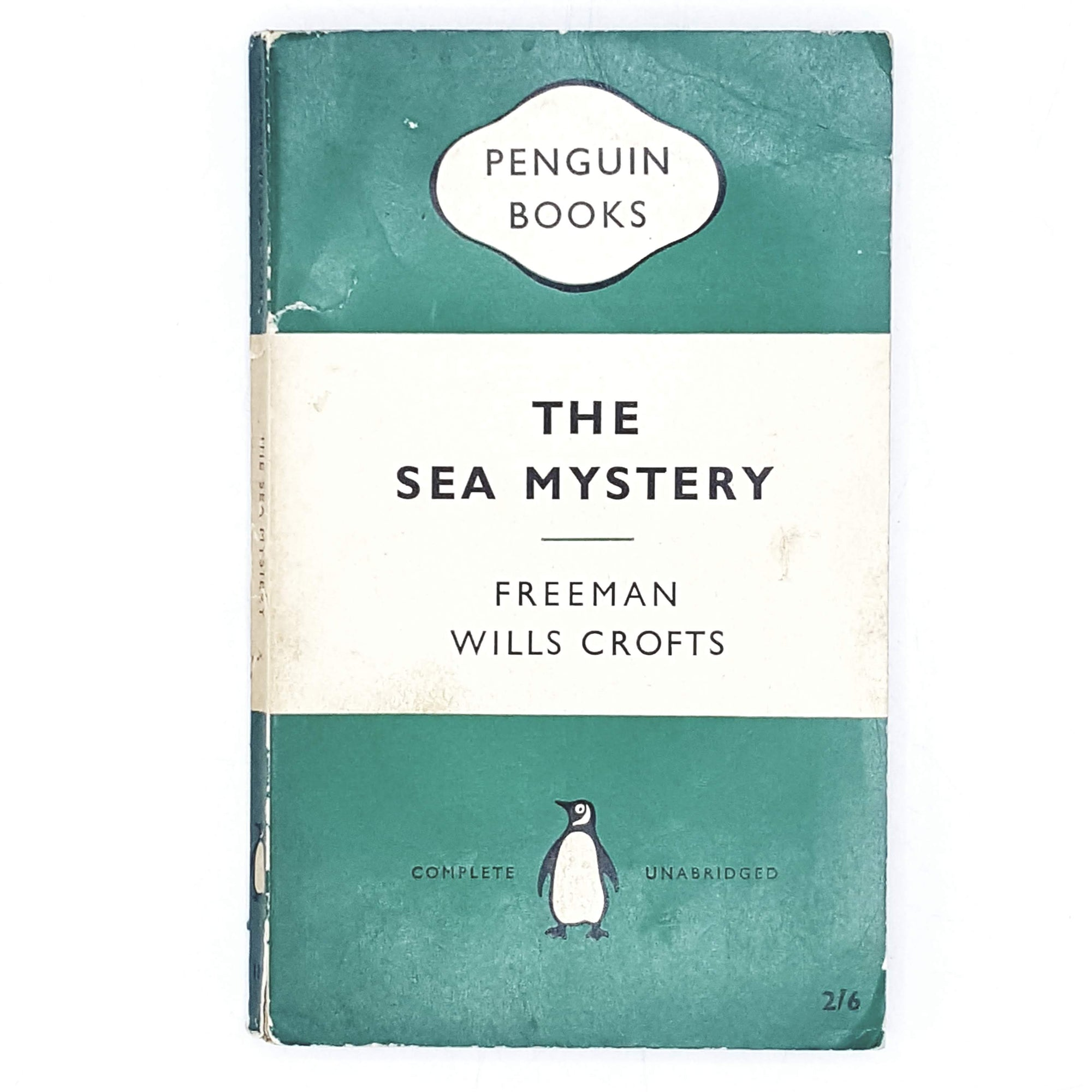 First Edition Penguin The Sea Mystery by Freeman Wills Crofts 1959