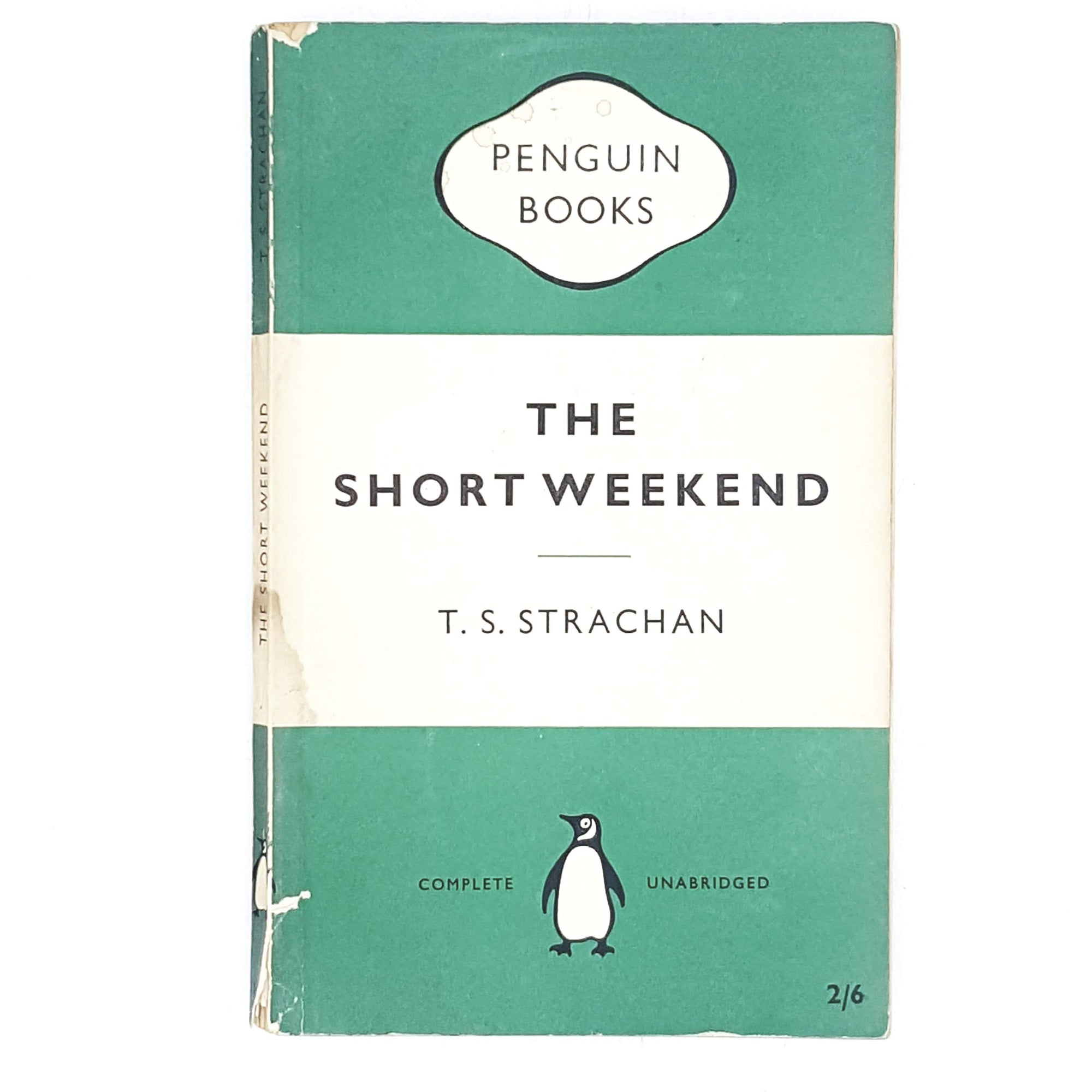 First Edition Penguin The Short Weekend by T. S. Strachan 1956