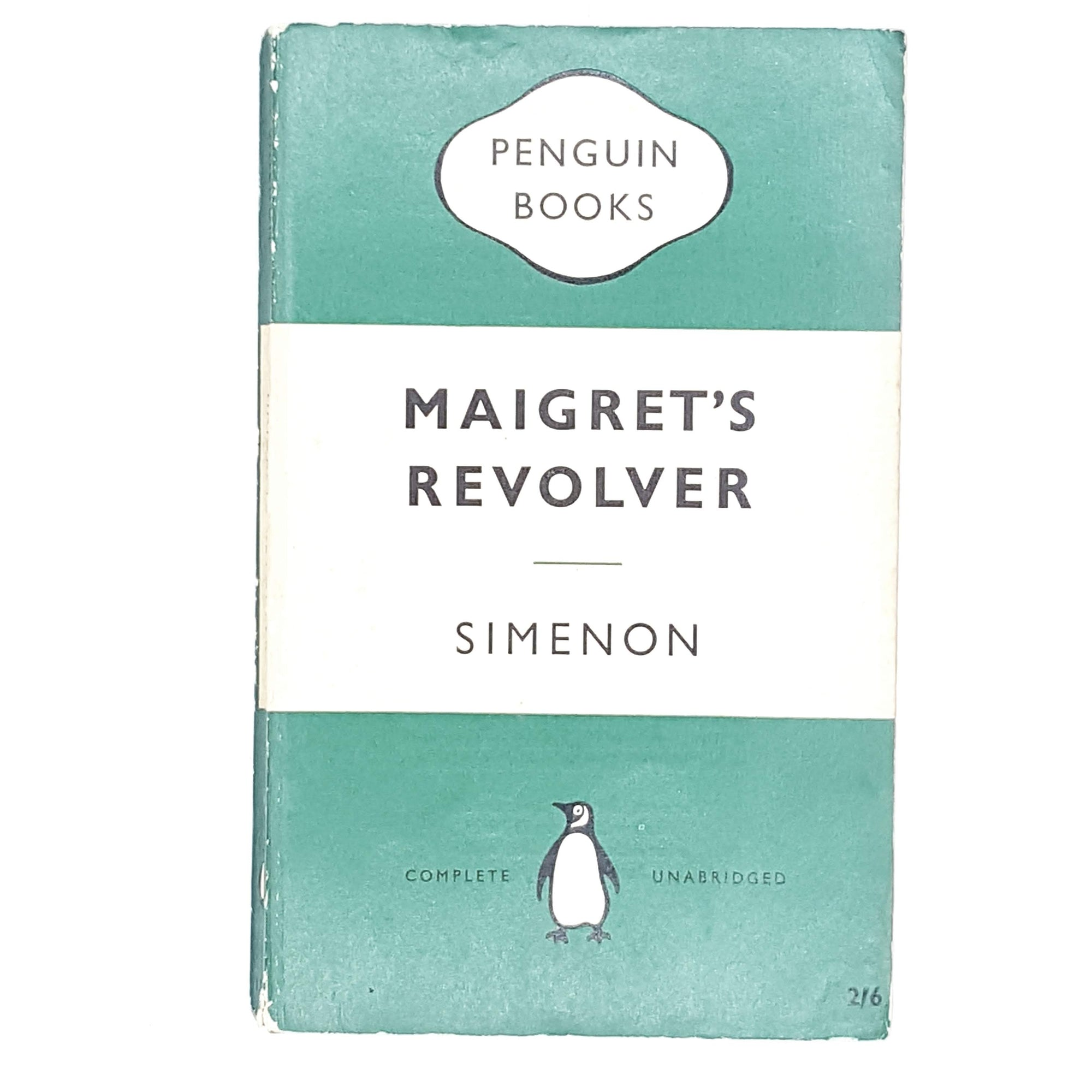 First Edition Penguin Maigret's Revolver by Simenon 1959