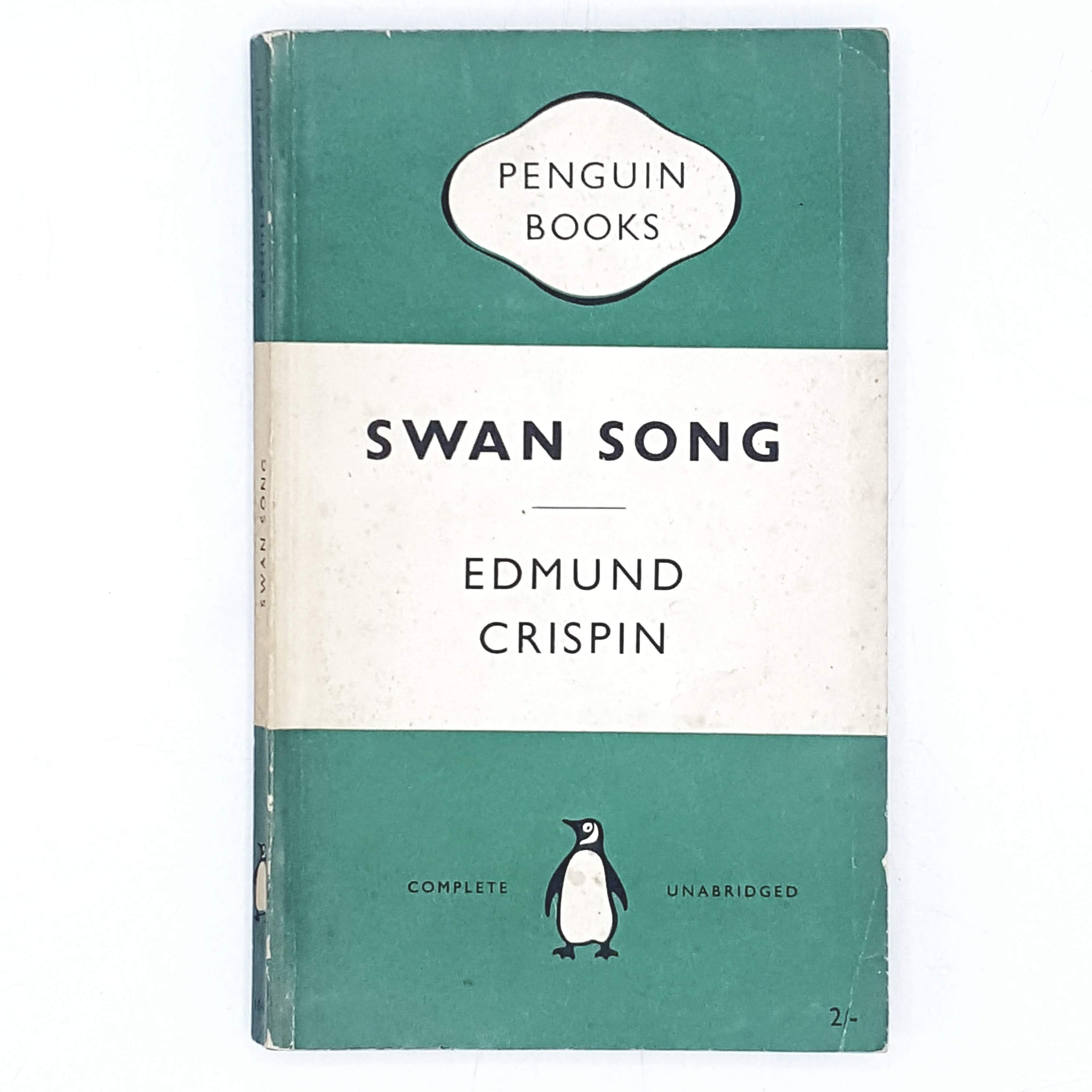 First Edition Penguin Swan Song by Edmund Crispin 1955