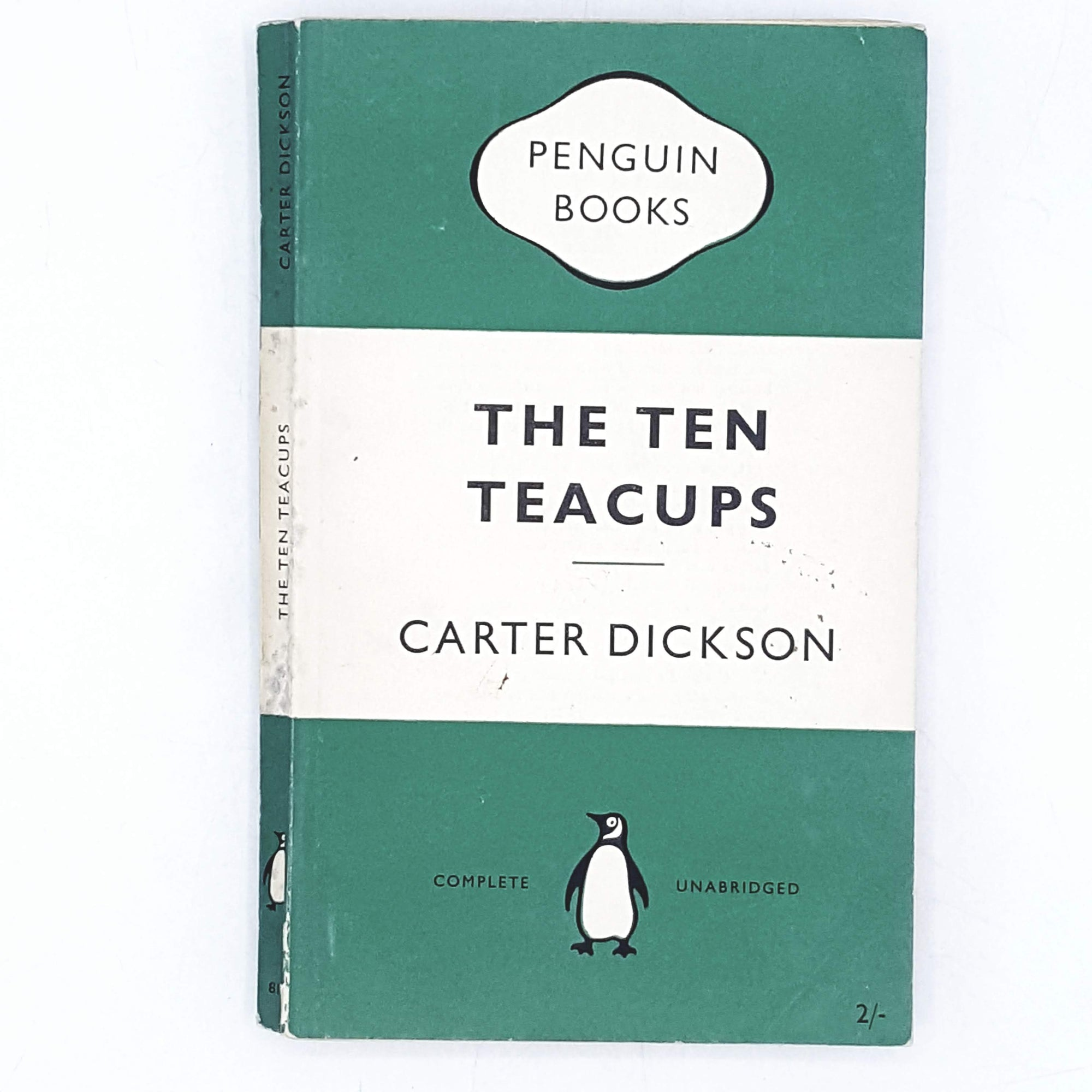 Vintage Penguin The Ten Teacups by Carter Dickson 1955