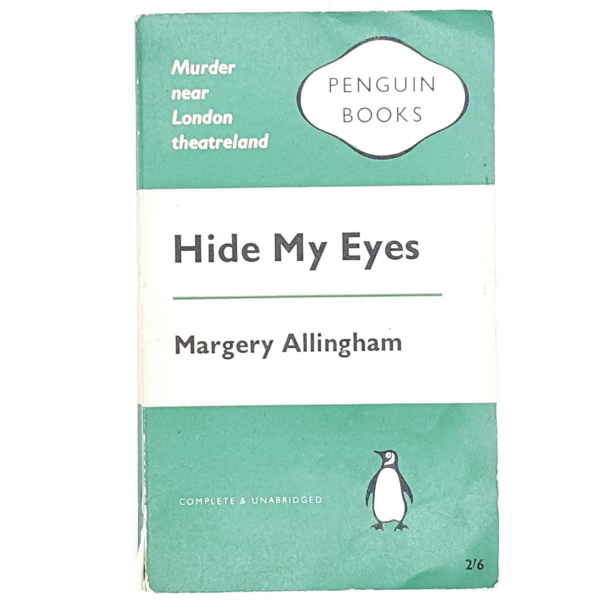 Vintage Penguin Hide My Eyes by Margery Allingham 1961