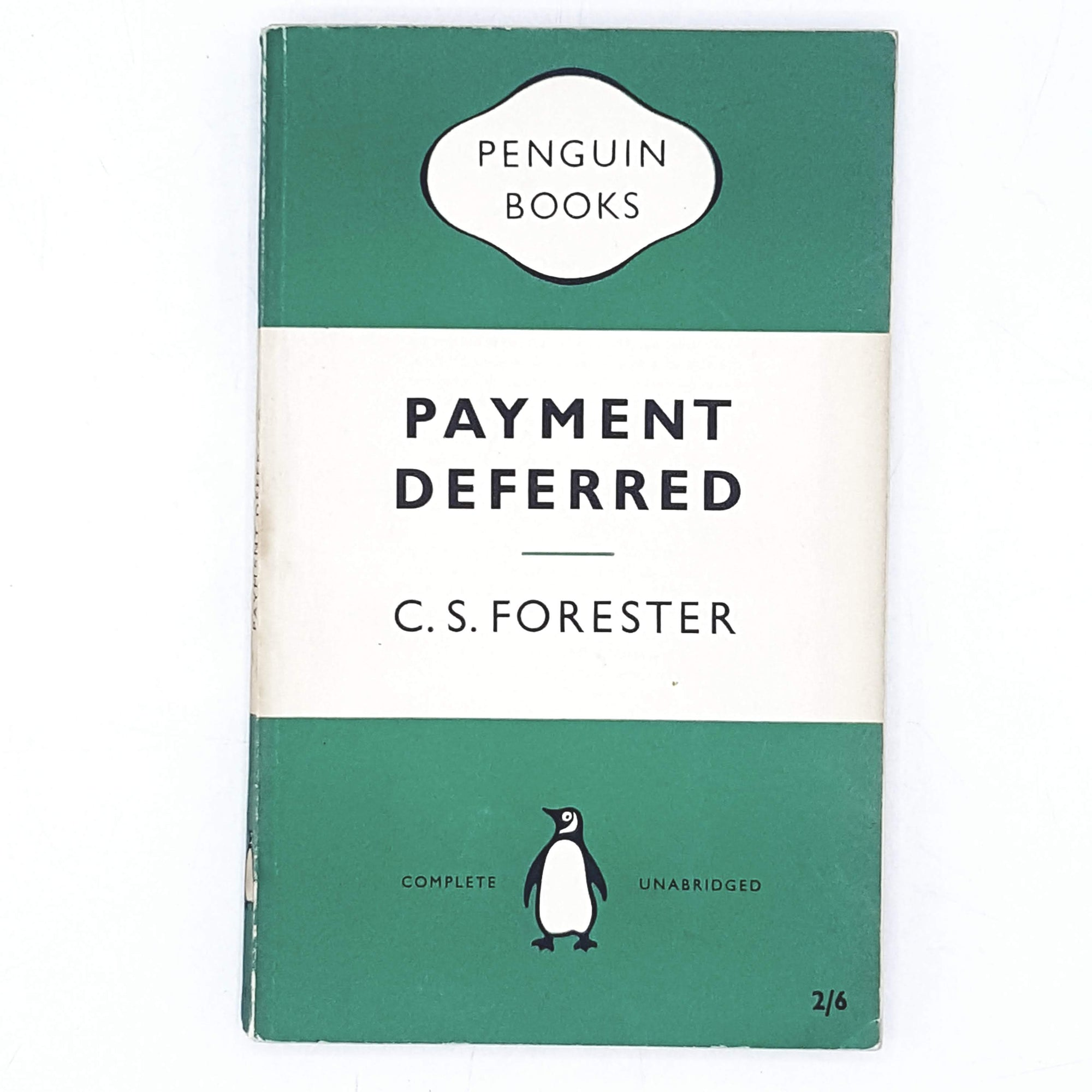 First Edition Penguin Payment Deferred by C. S. Forester 1955