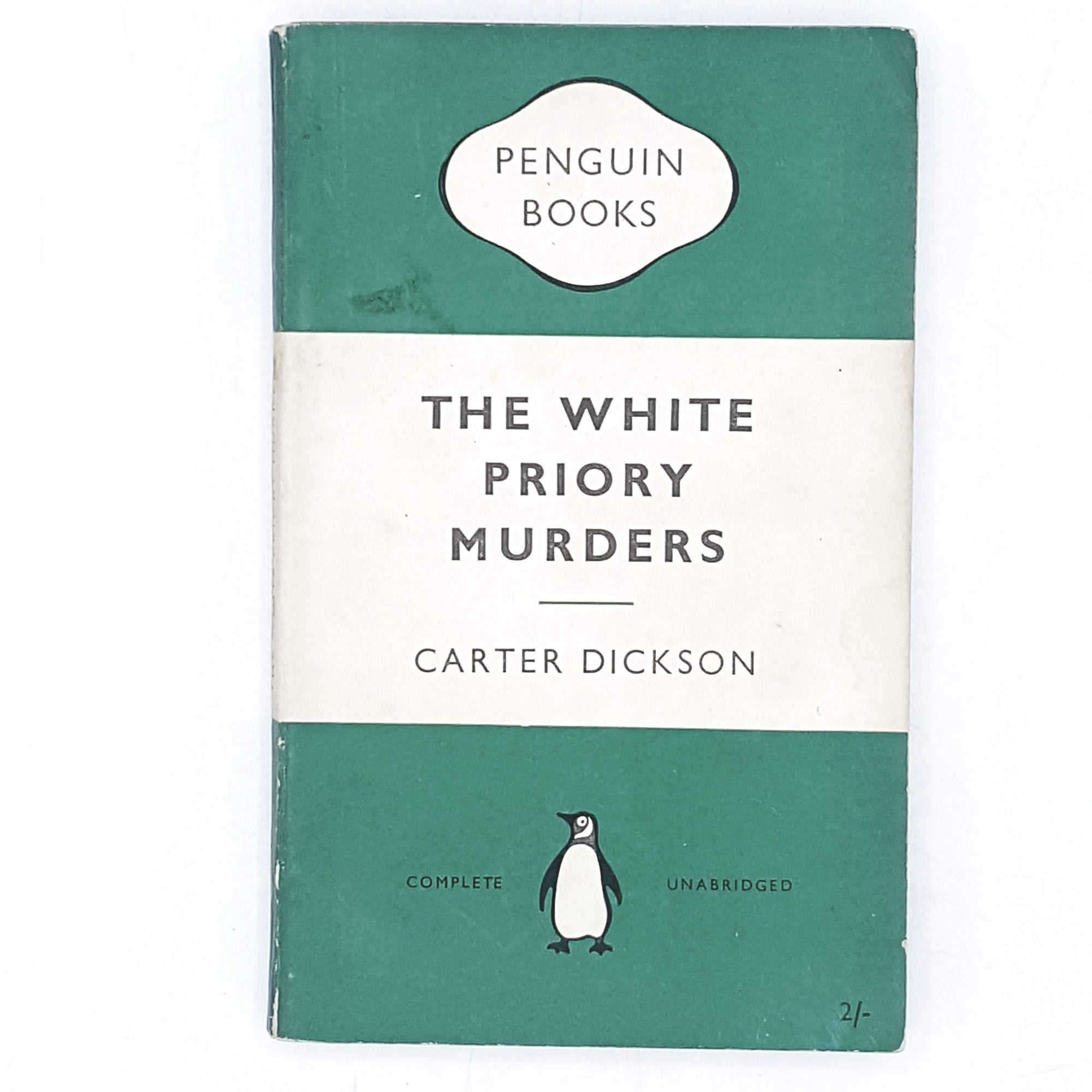 Vintage Penguin The White Priory Murders by Carter Dickson 1954