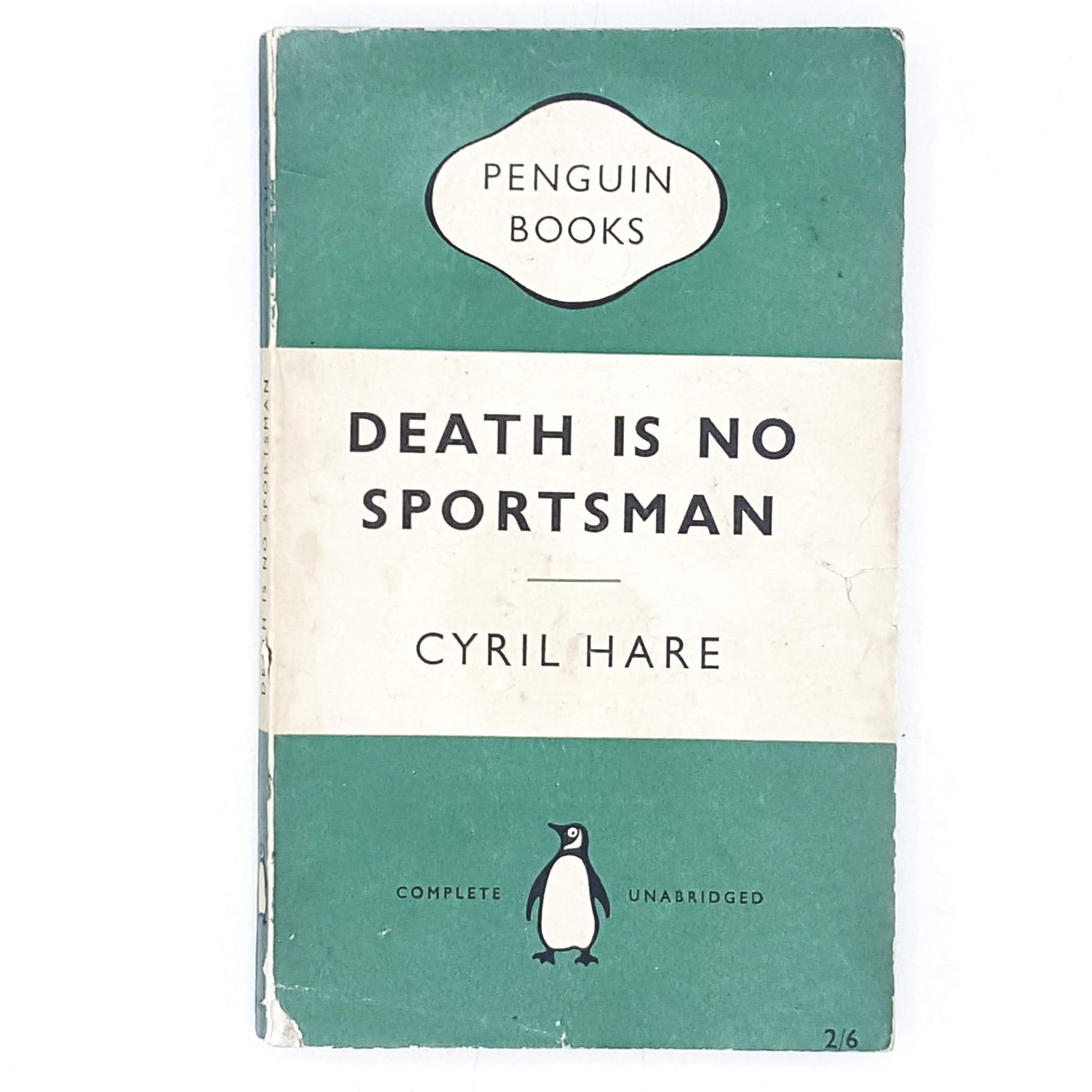 First Edition Penguin Death Is No Sportsman by Cyril Hare 1955