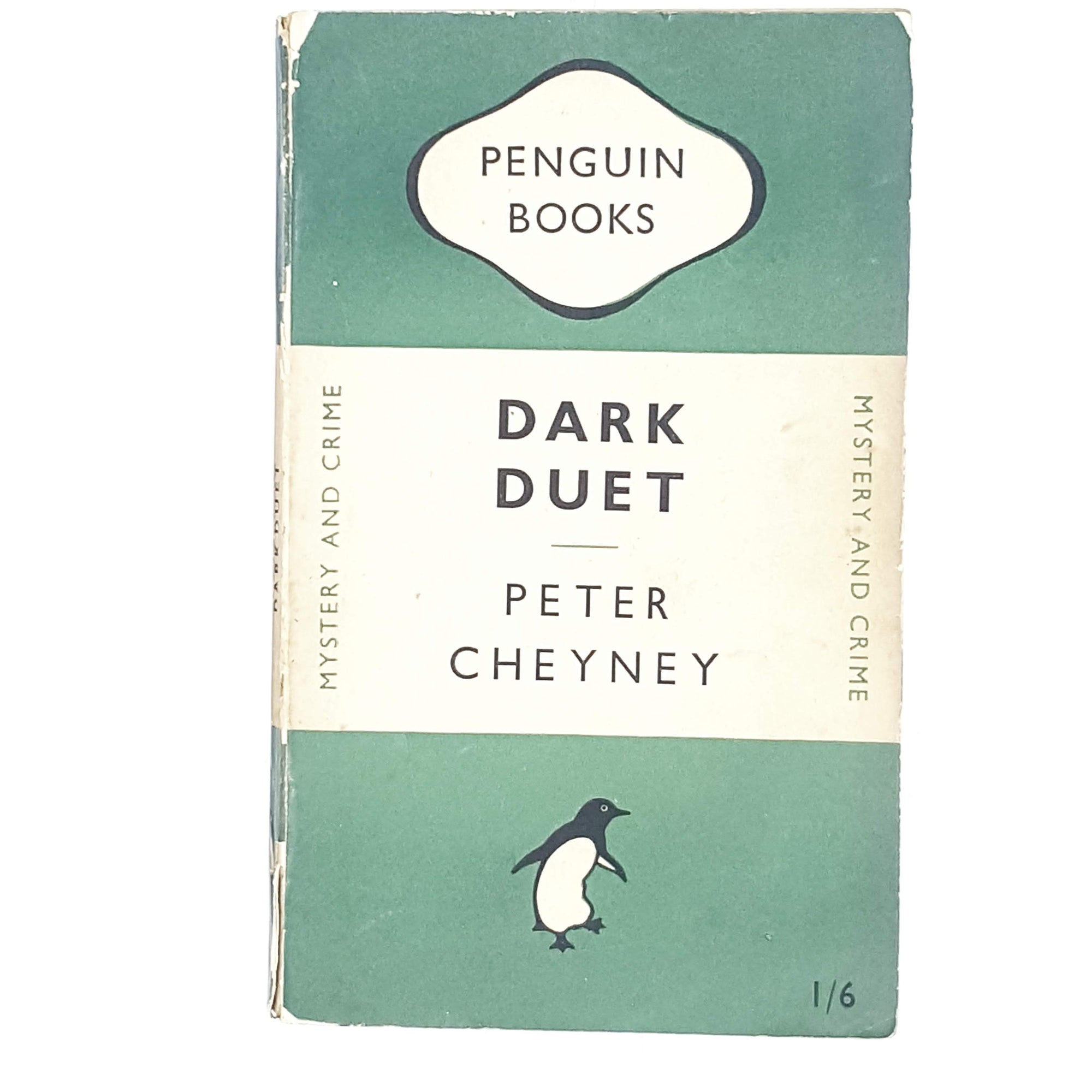 First Edition Penguin Dark Duet by Peter Cheyney 1949