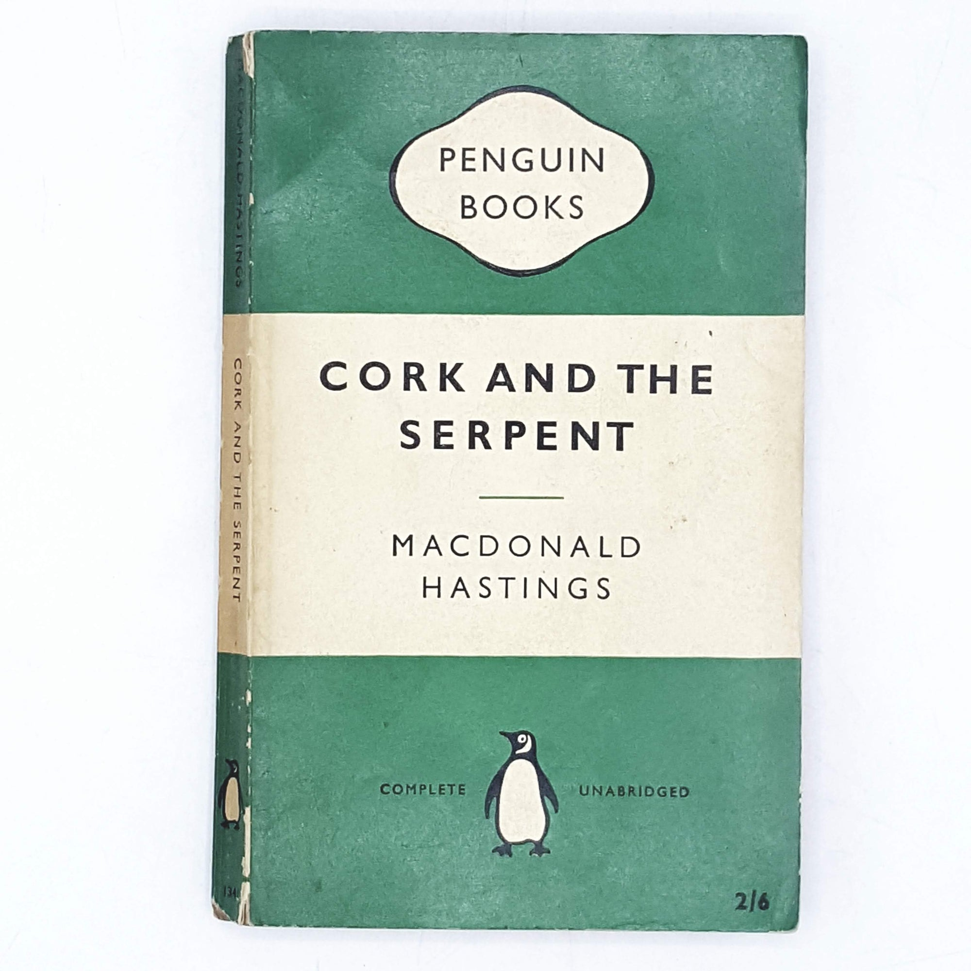First Edition Penguin Cork and the Serpent by MacDonald Hastings 1959