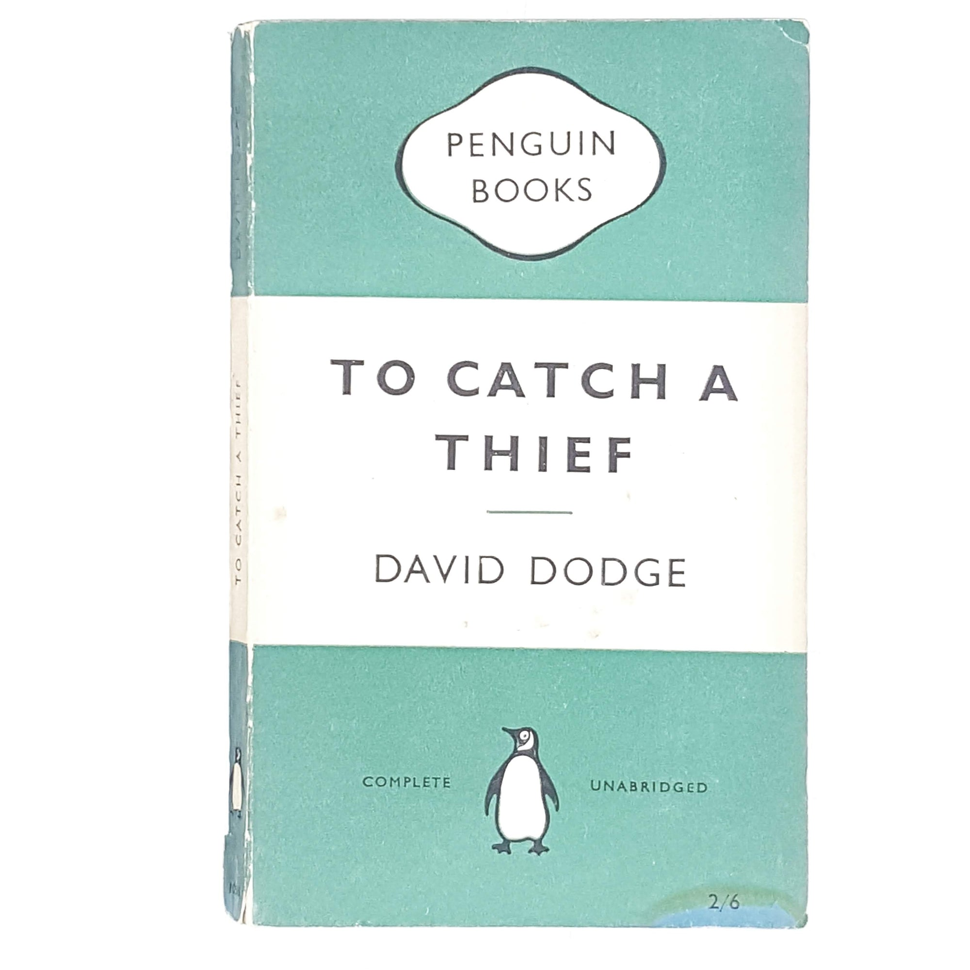 First Edition Penguin To Catch a Thief by David Dodge 1955