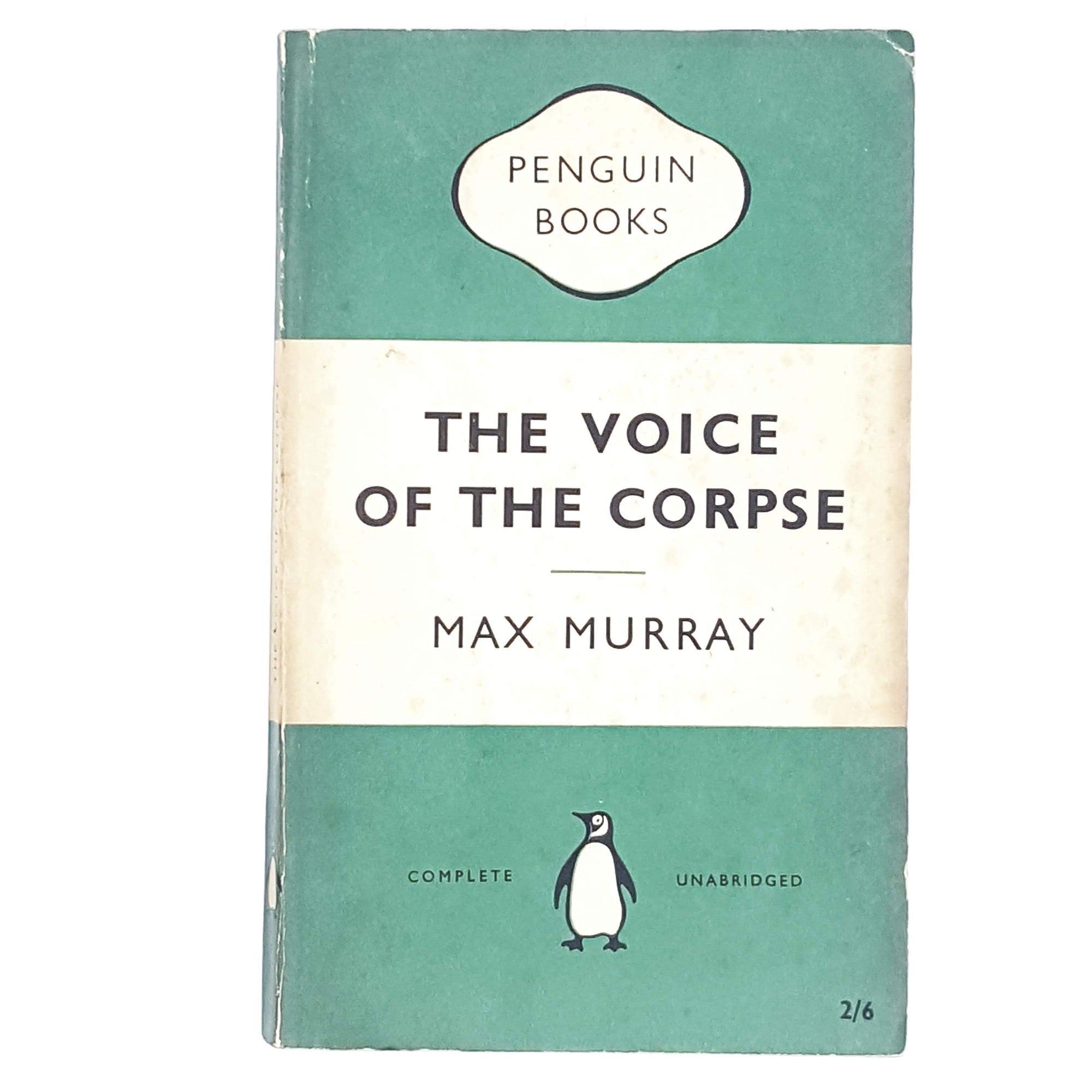 First Edition Penguin The Voice of the Corpse by Max Murray 1956