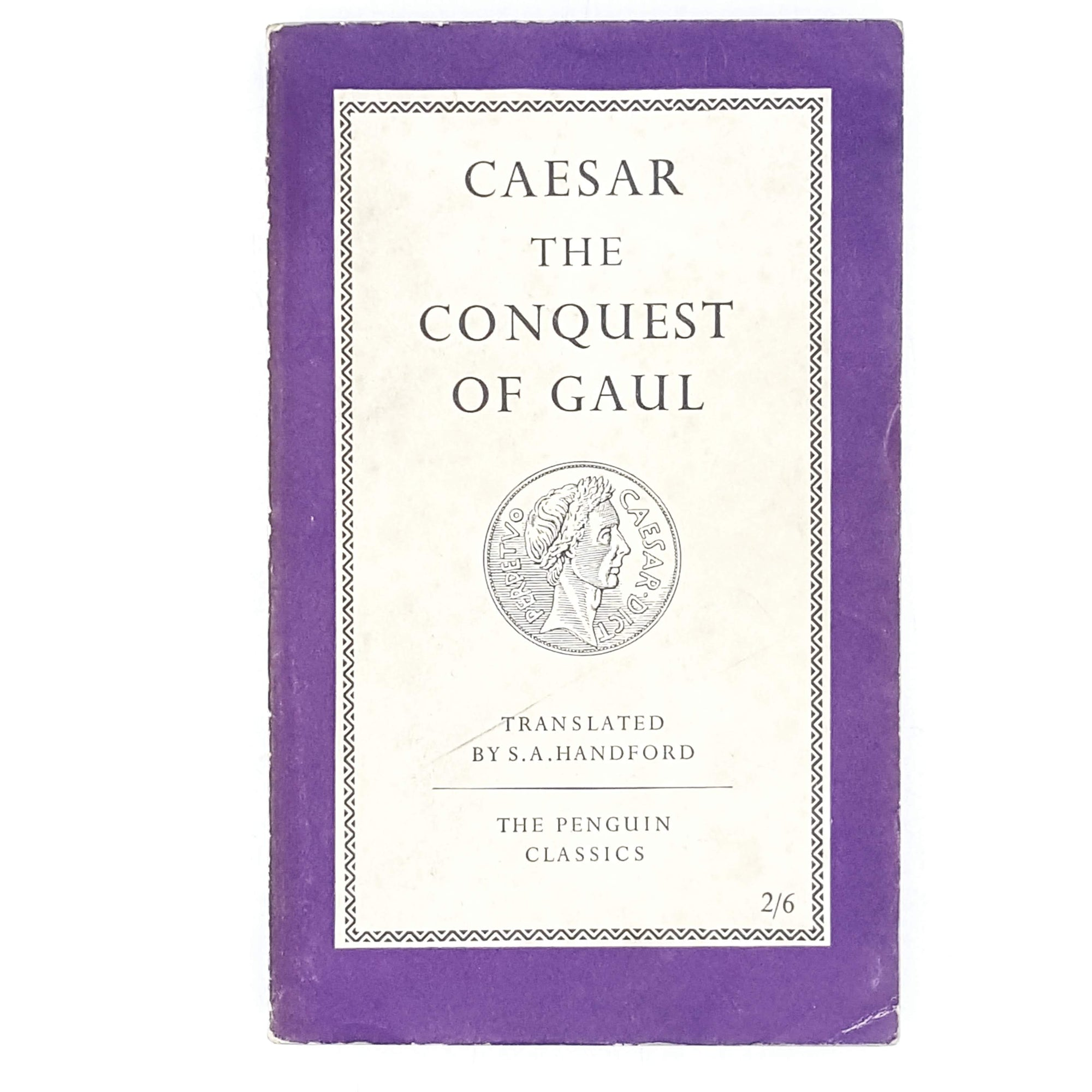 Vintage Penguin Caesar's Conquest of Gaul 1958