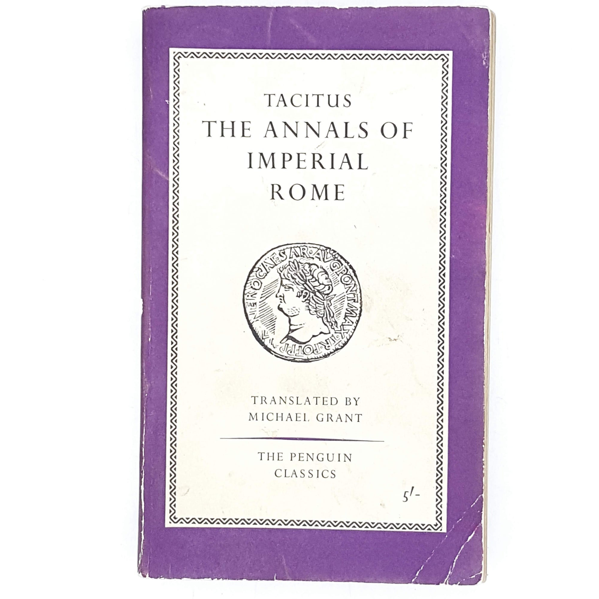 Vintage Penguin Tacitus The Annals of Imperial Rome 1961