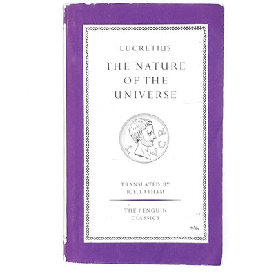 Vintage Penguin The Nature of the Universe by Lucretius 1960