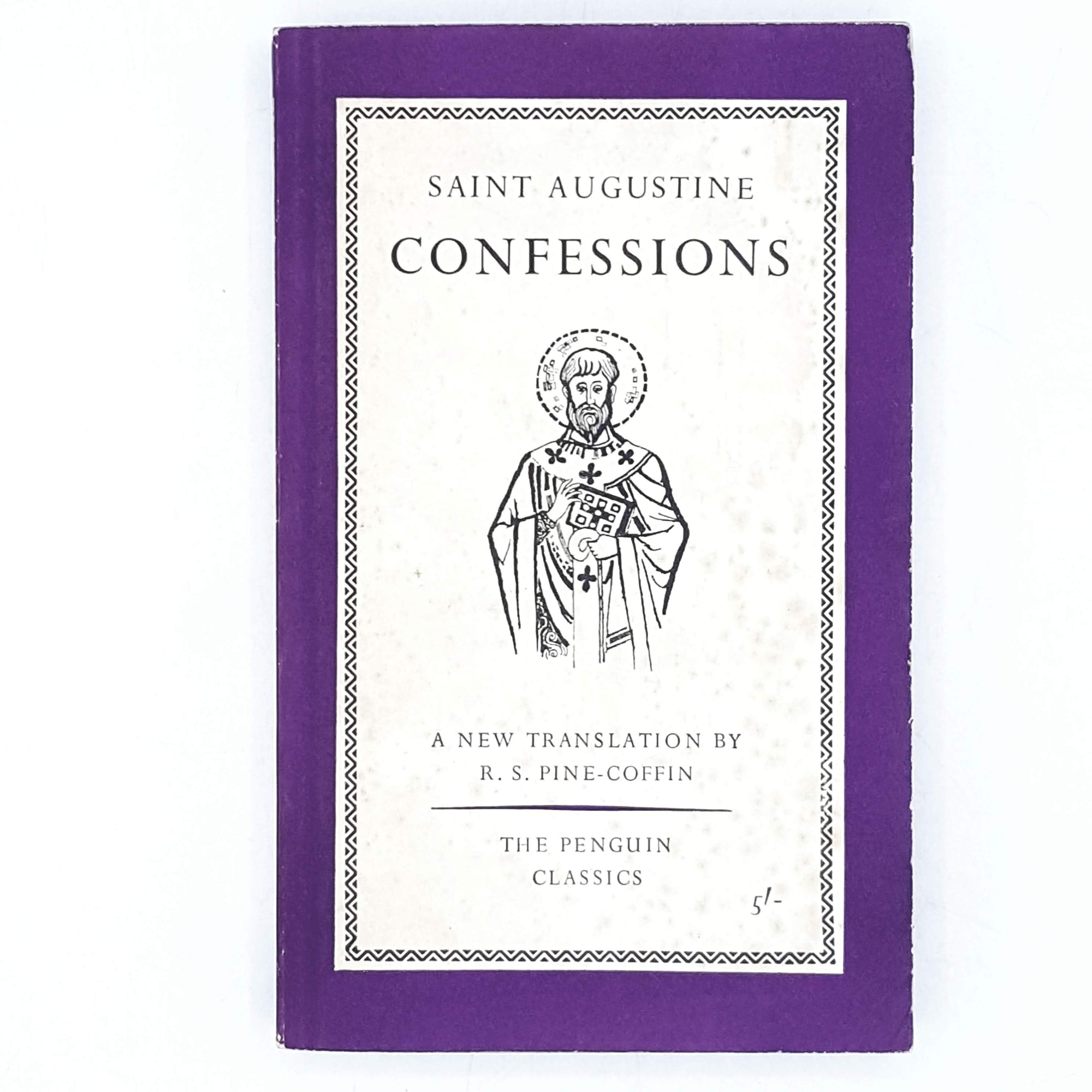 First Edition Penguin Satin Augustine's Confessions 1961