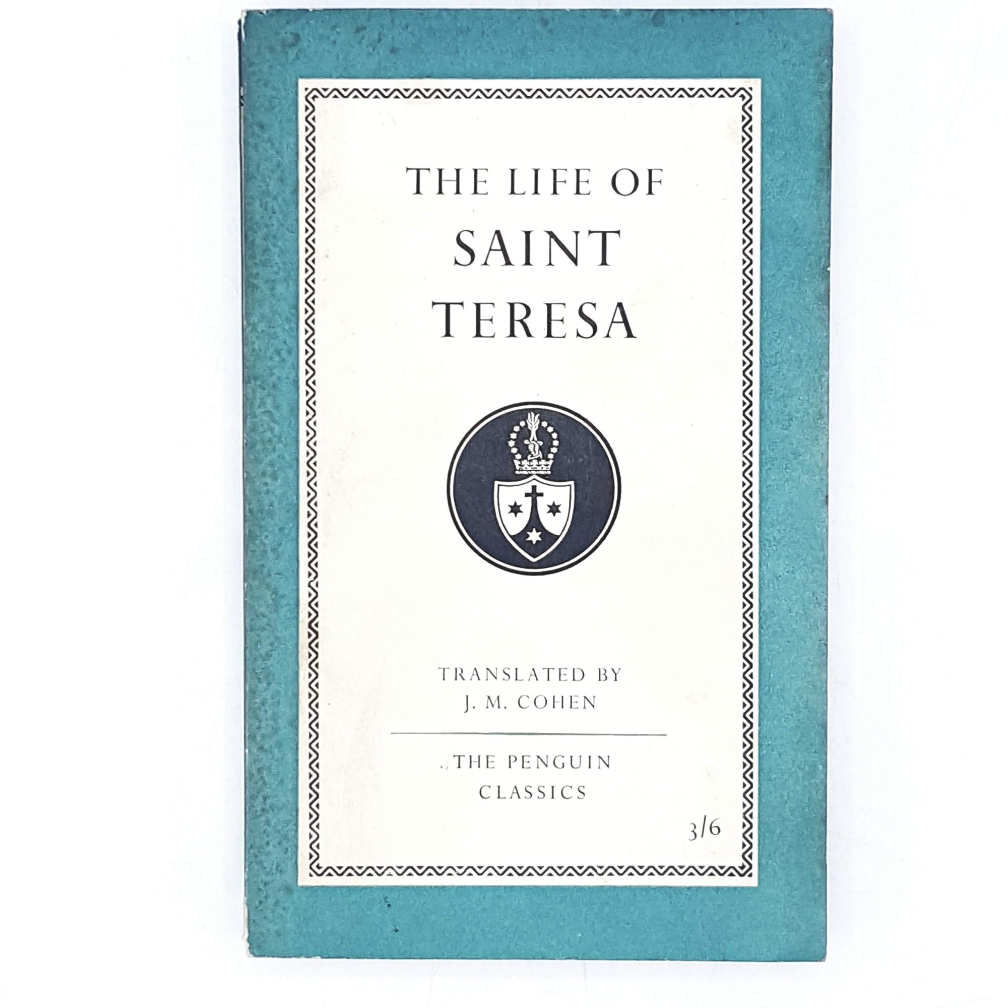 Vintage Penguin The Life of Saint Theresa 1958