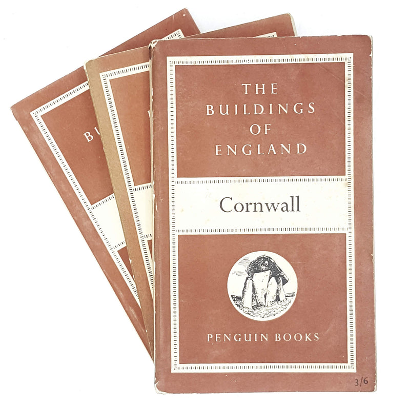 First Edition Penguin Collection: The Buildings of England 1951 - 1959