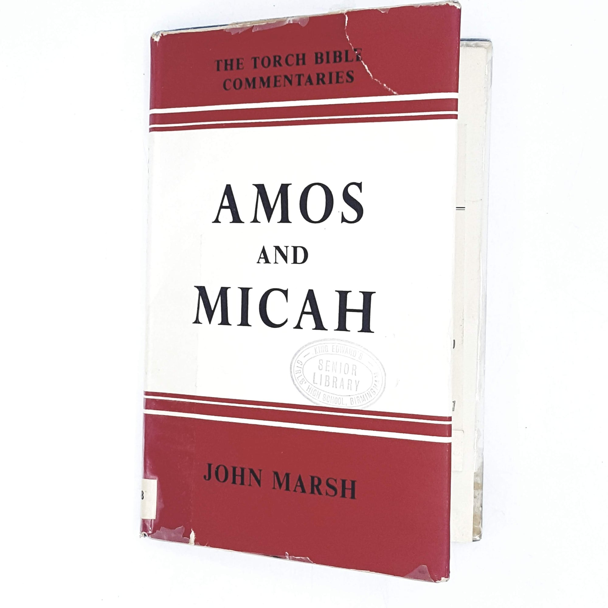 Vintage Bible Commentaries: Amos and Micah 1962