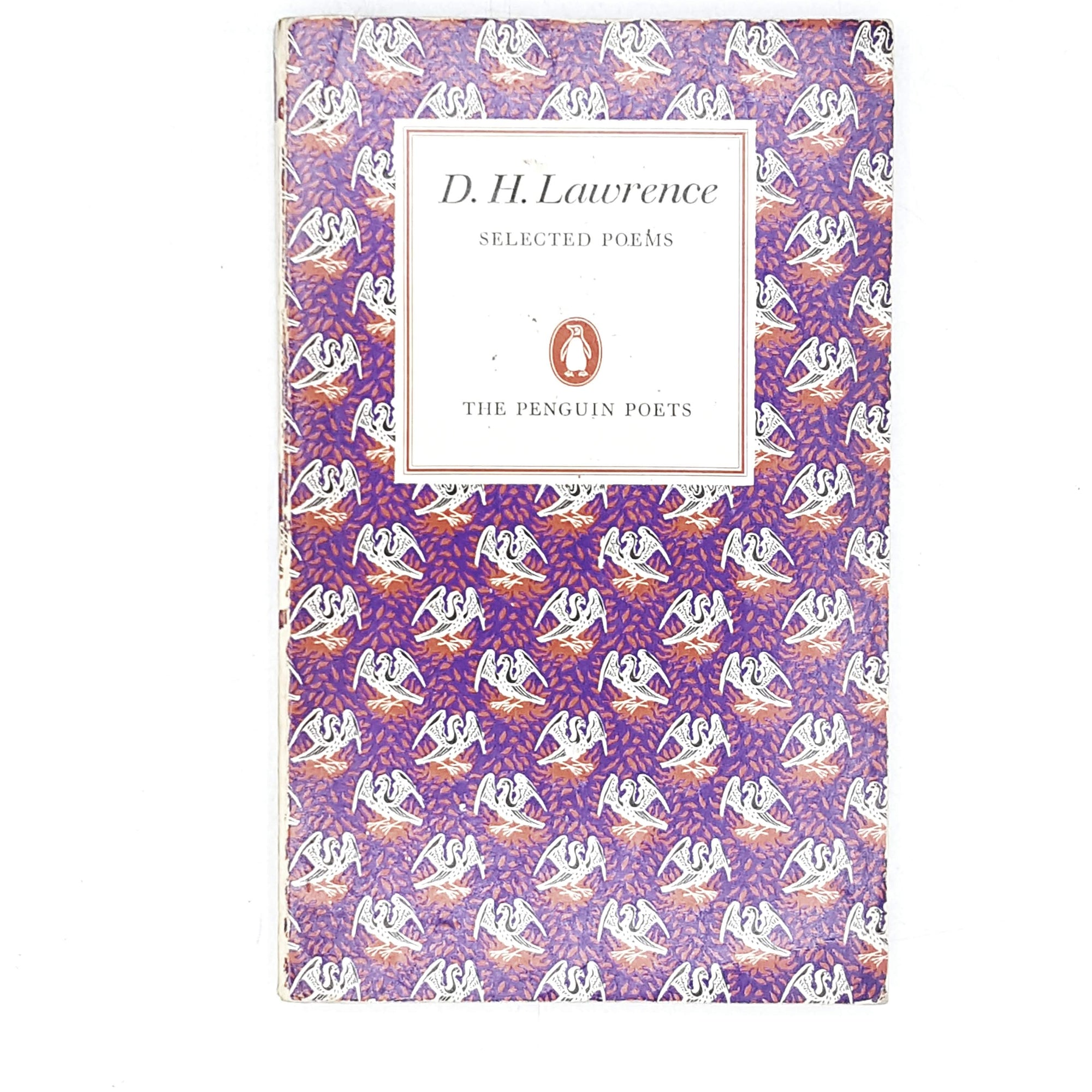 Penguin Poetry: D. H. Lawrence Selected Poems 1969