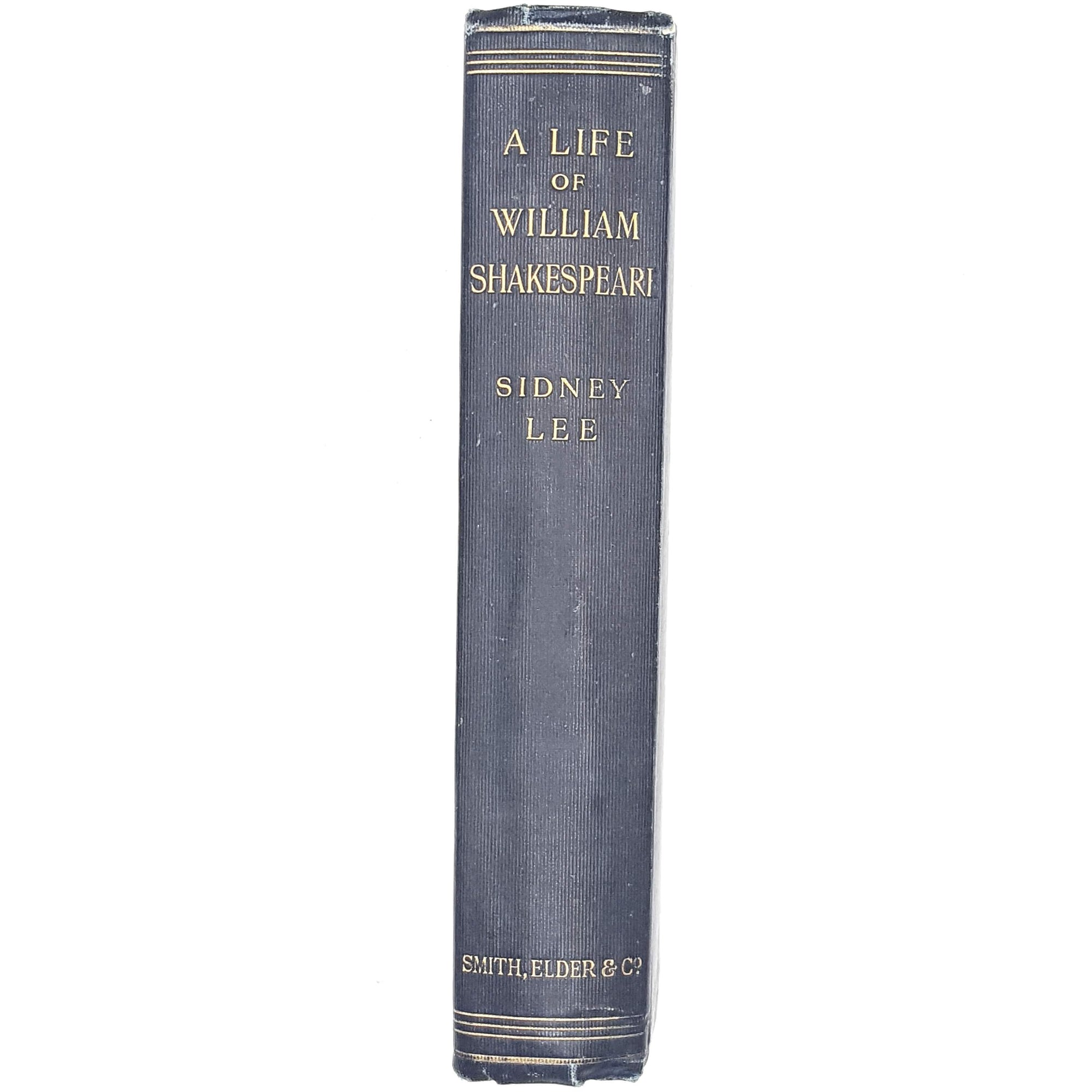 A Life of William Shakespeare by Sidney Lee 1898