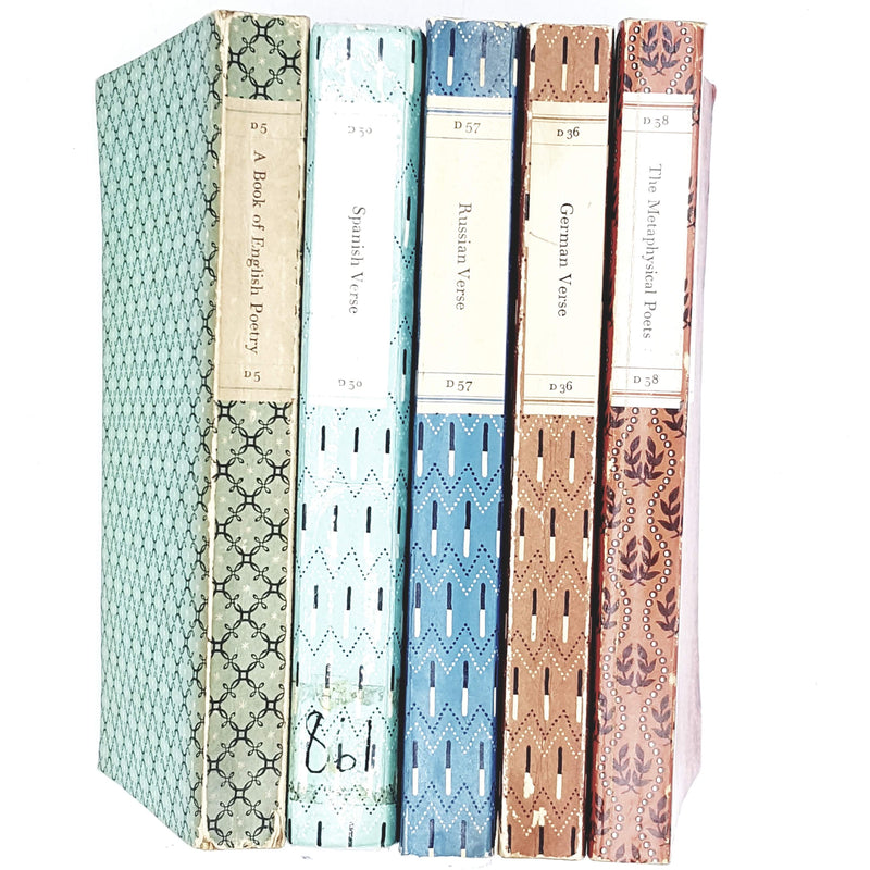 Penguin Collection: European Poetry set 1958 - 1965