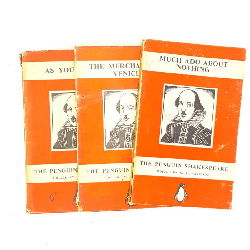 england-prose-penguin-shakespeare-week-poetry-plays-old-thrift-books-shakespeare-writing-country-house-library-red-1930-