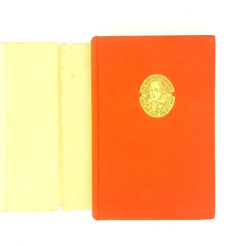 1947-complete-works-antique-shakespeare-colour-plays-thrift-books-old-quotes-poetry-prose-england-writing-poetry-red-plates-colour-country-house-library-shakespeare-week-