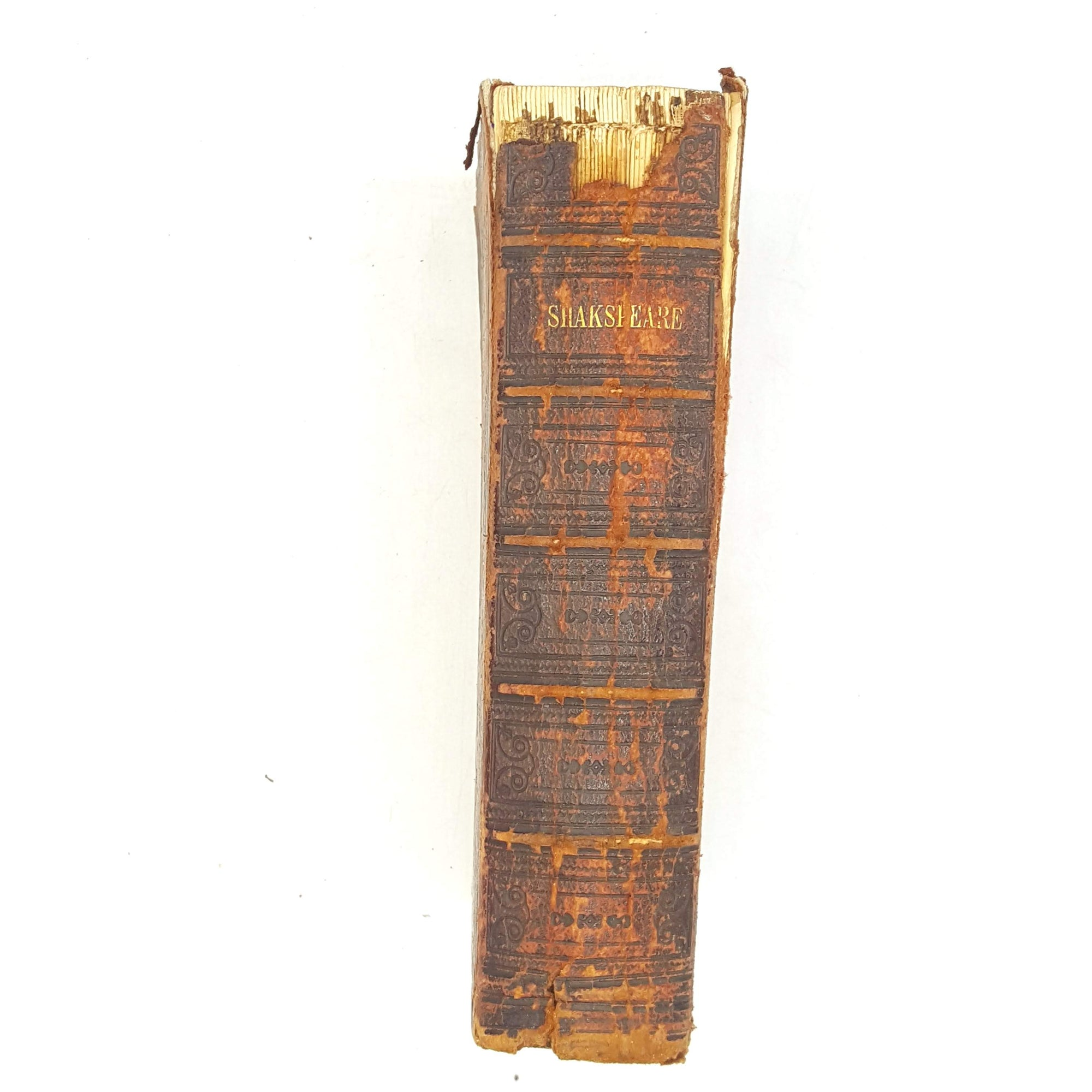 thrift-books-shakespeare-week-antique-poetry-colour-shakespeare-plays-sonnets-country-house-library-old-complete-works-quotes-brown-1859-england-prose-writing-