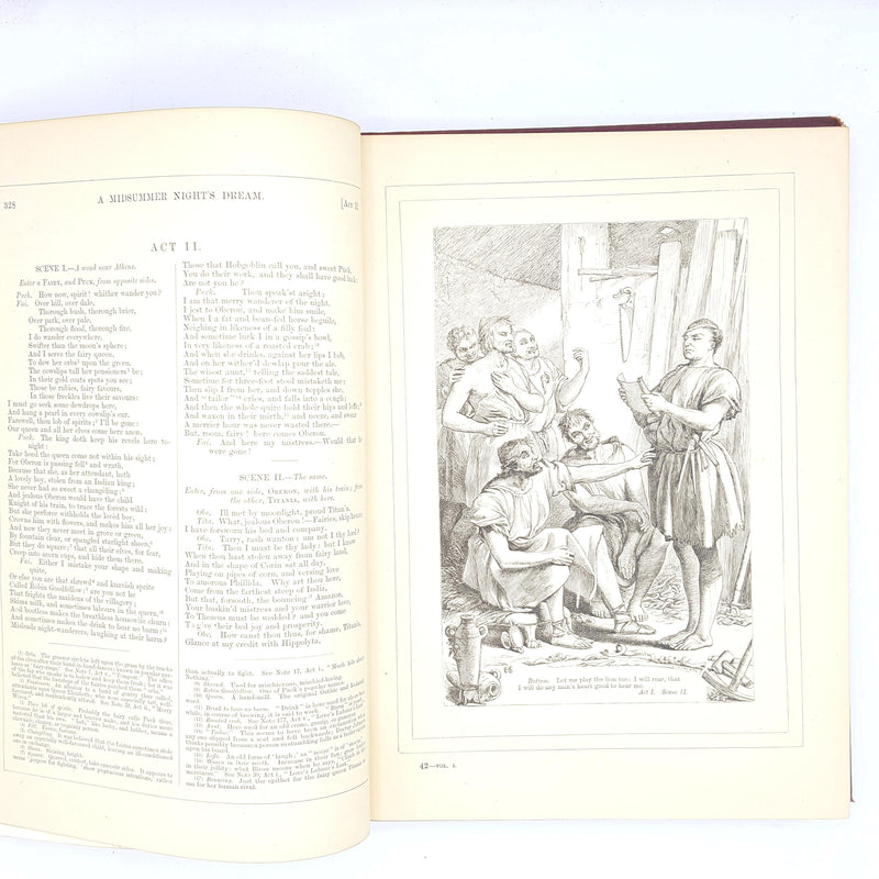 Illustrated Shakespeare Plays DIV VII