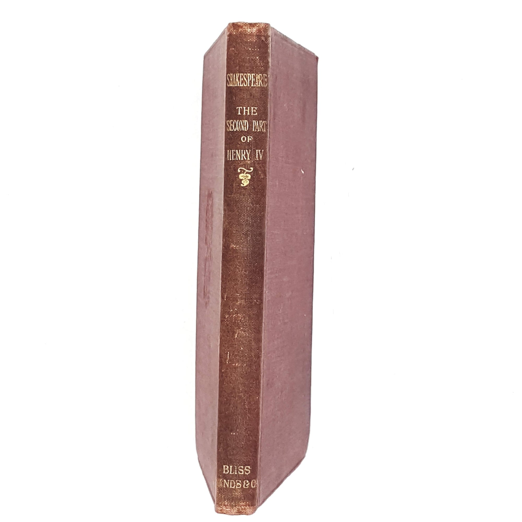 william-shakespeare-red-vintage-books-henry-iv