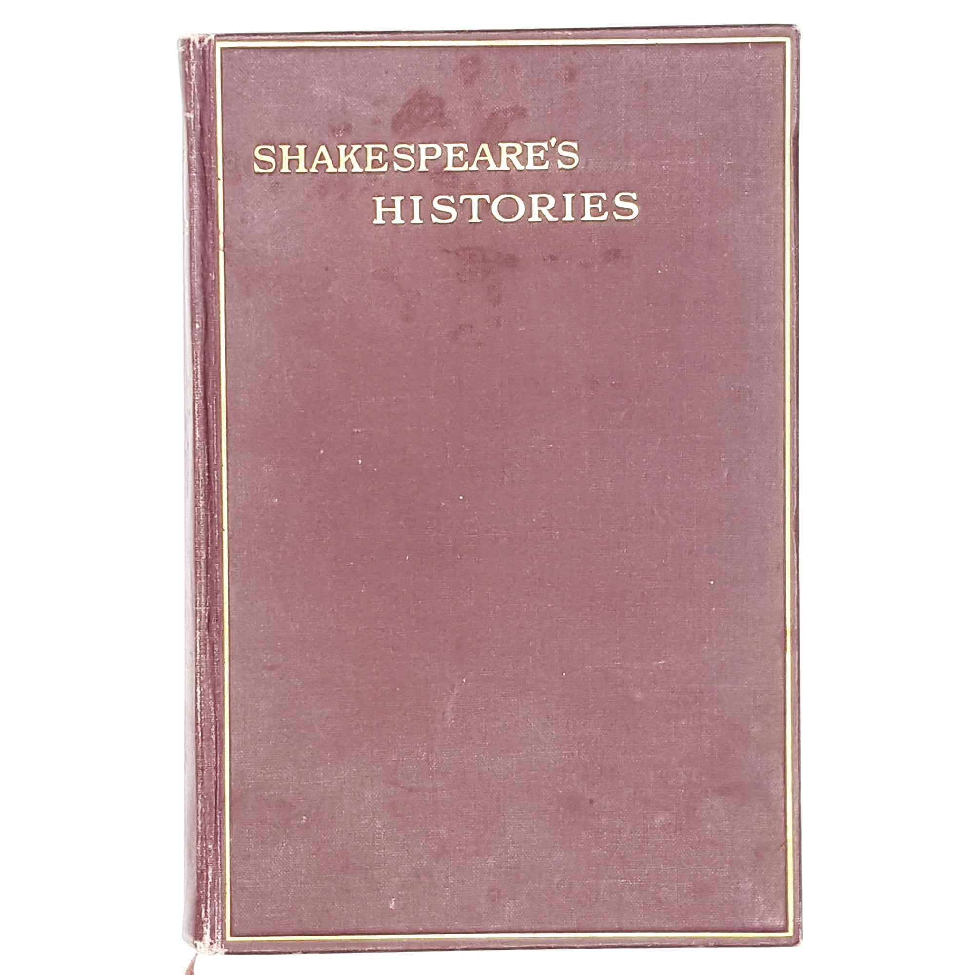 william-shakespeare-histories-red-vintage