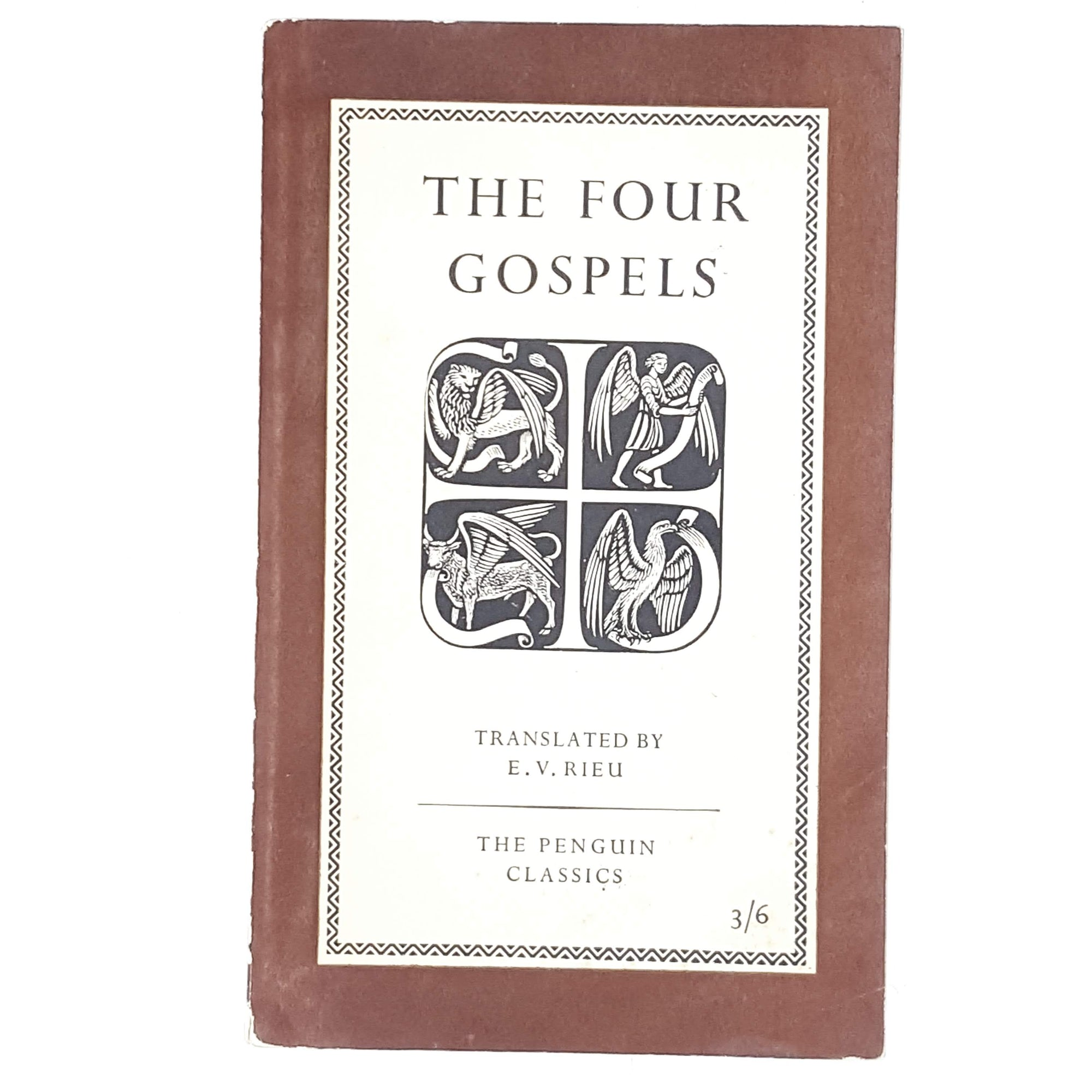 Vintage Penguin The Four Gospels translated by E. V. Rieu 1956