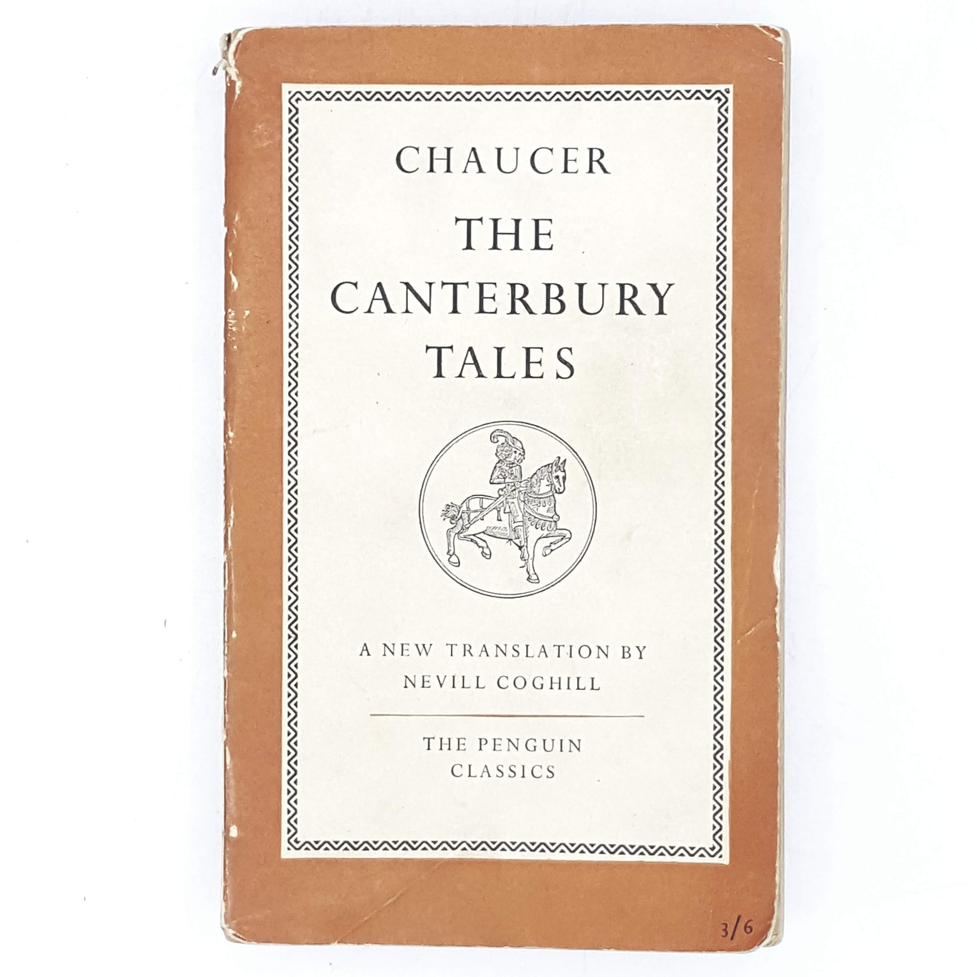 First Edition Penguin Chaucer's The Cantebury Tales 1951