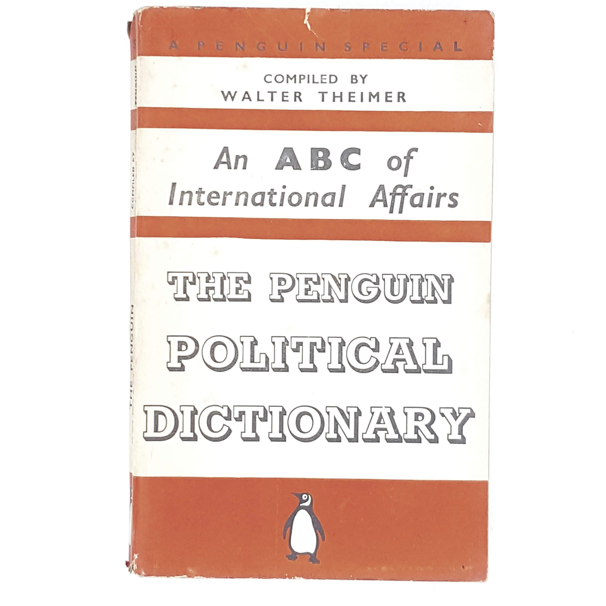 First Edition Penguin An ABC of International Affairs: The Penguin Political Dictionary 1939