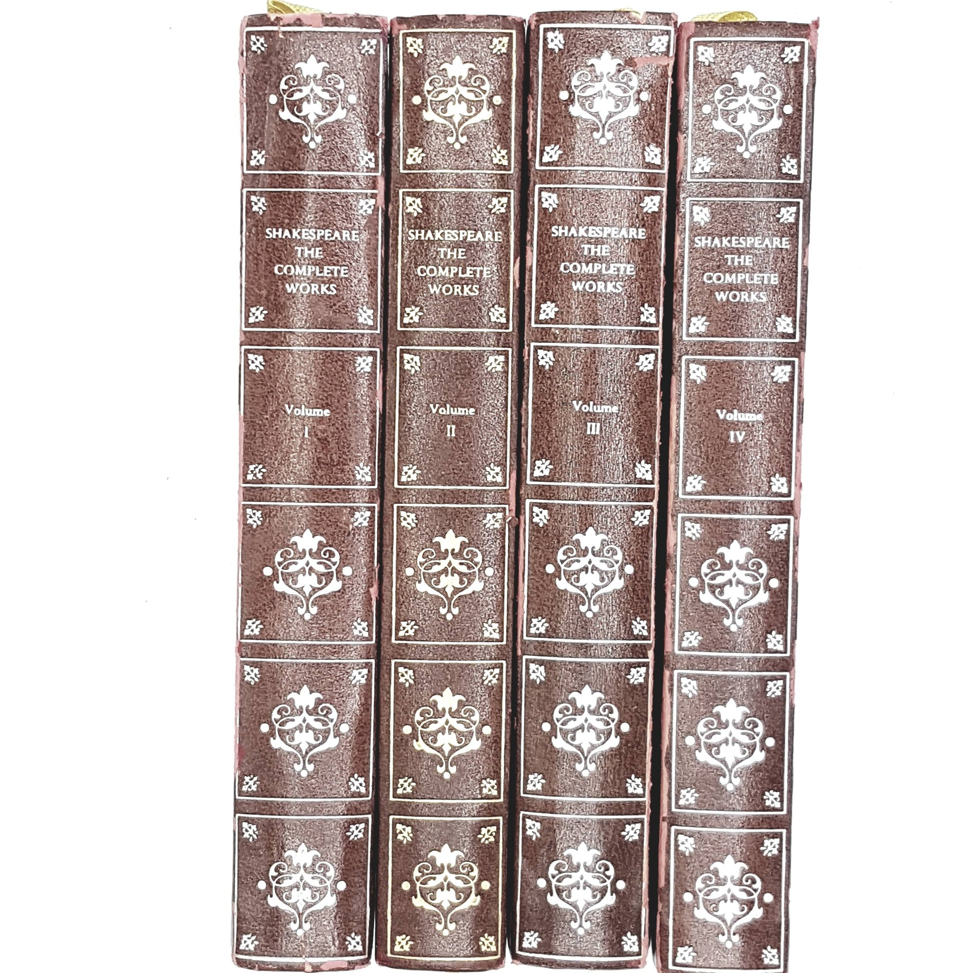 Collection William Shakespeare's Complete Works four book set