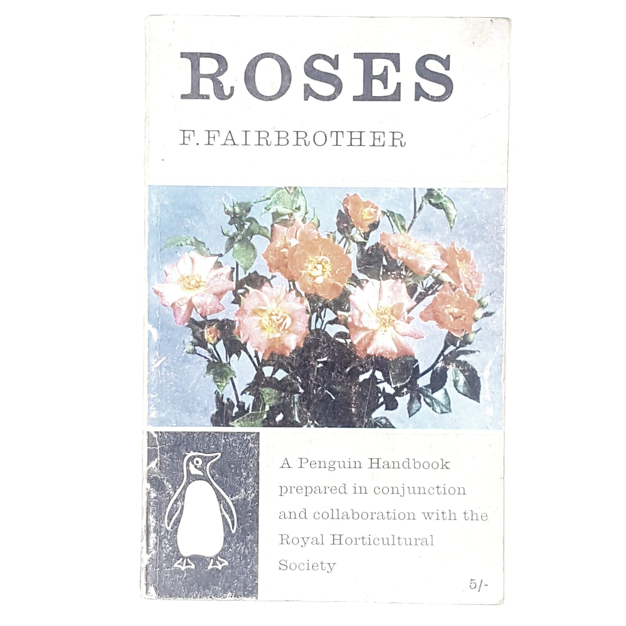 Vintage Penguin Roses by F. Fairbrother 1960