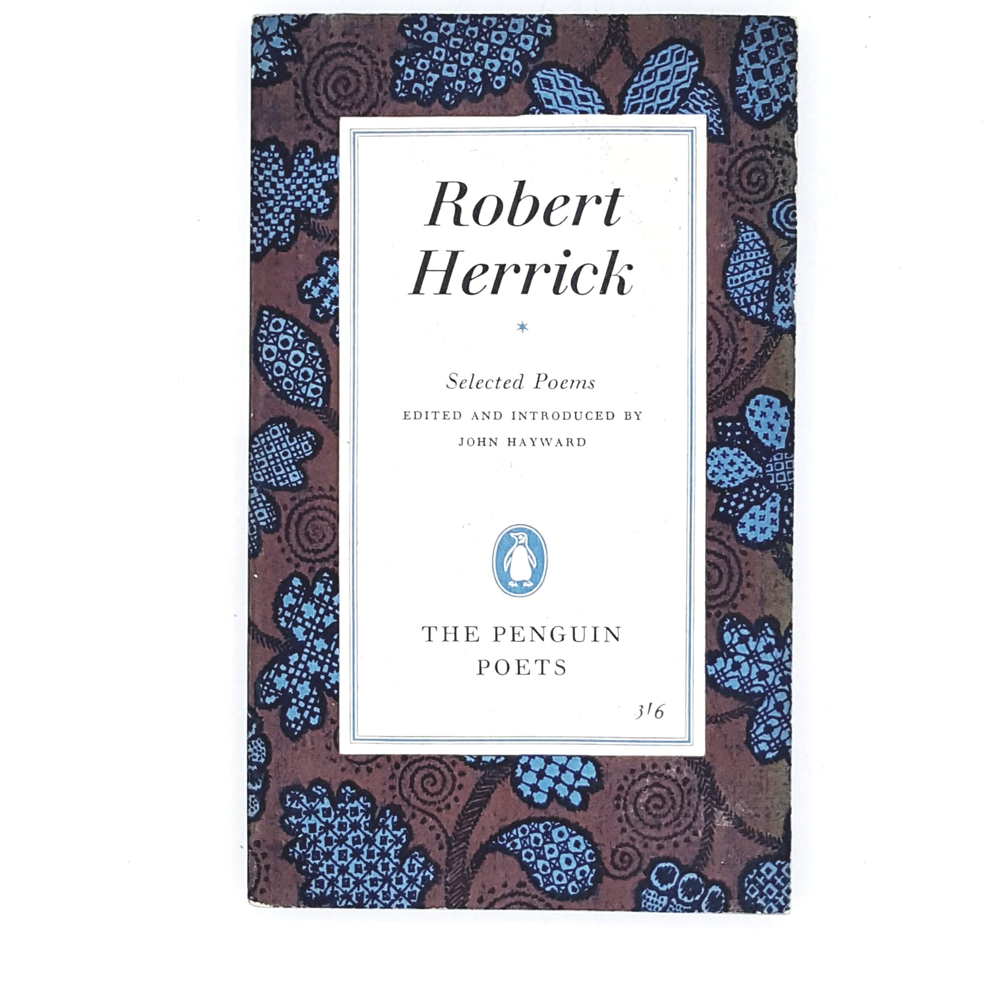 First Edition Penguin Robert Herrick's Selected Poems