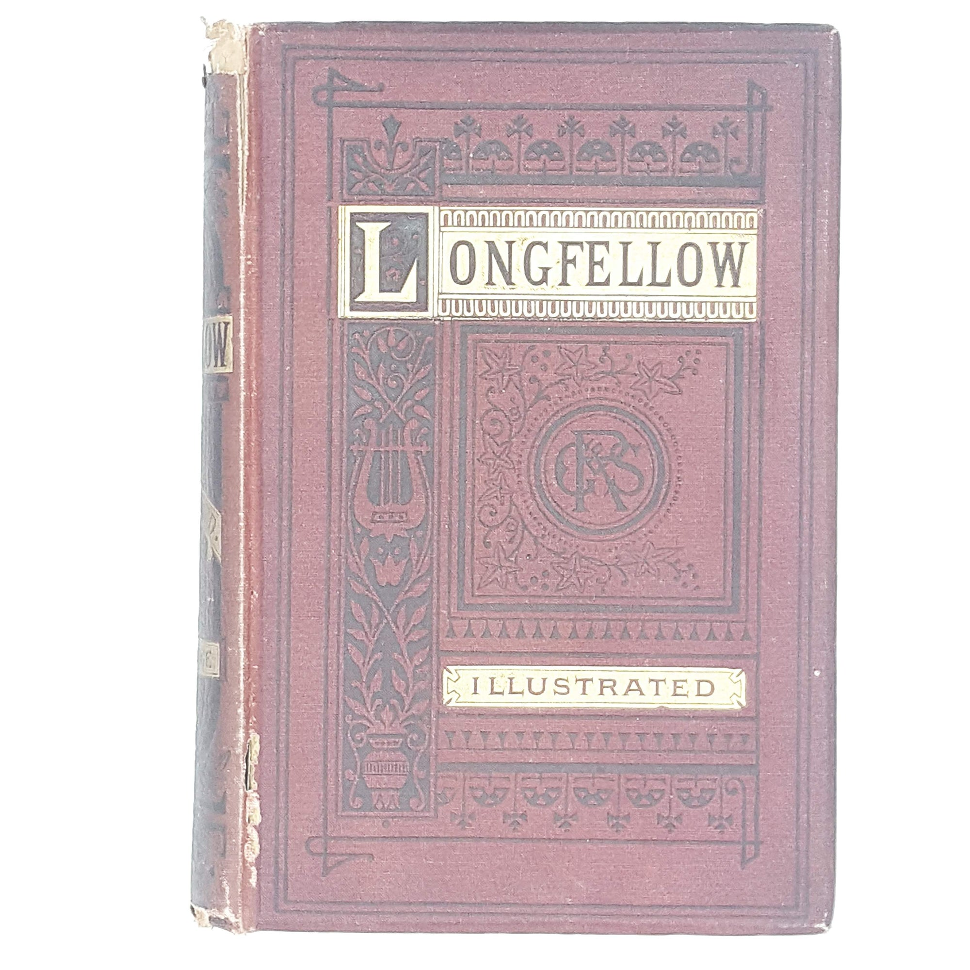 red-goldgilt-poetry-longfellow-illustrated