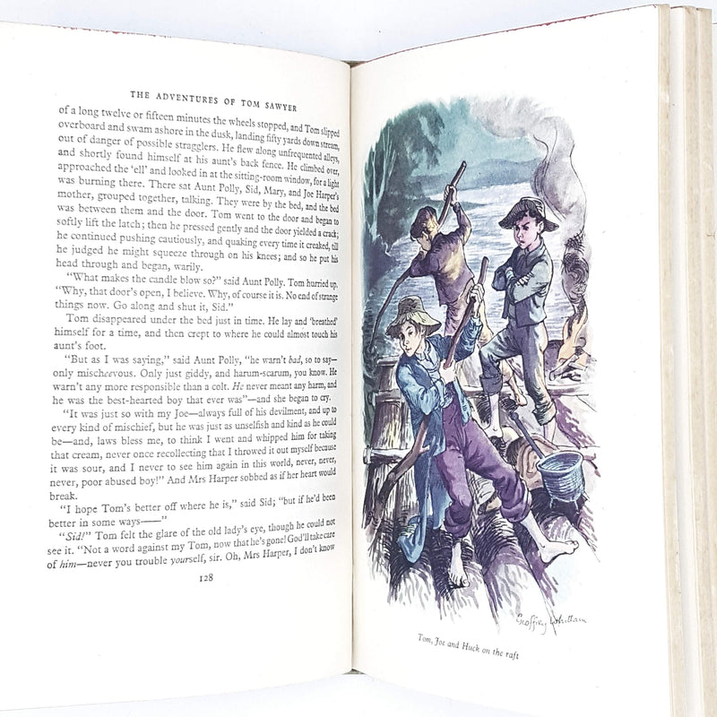 Illustrated Mark Twain's The Adventures of Tom Sawyer
