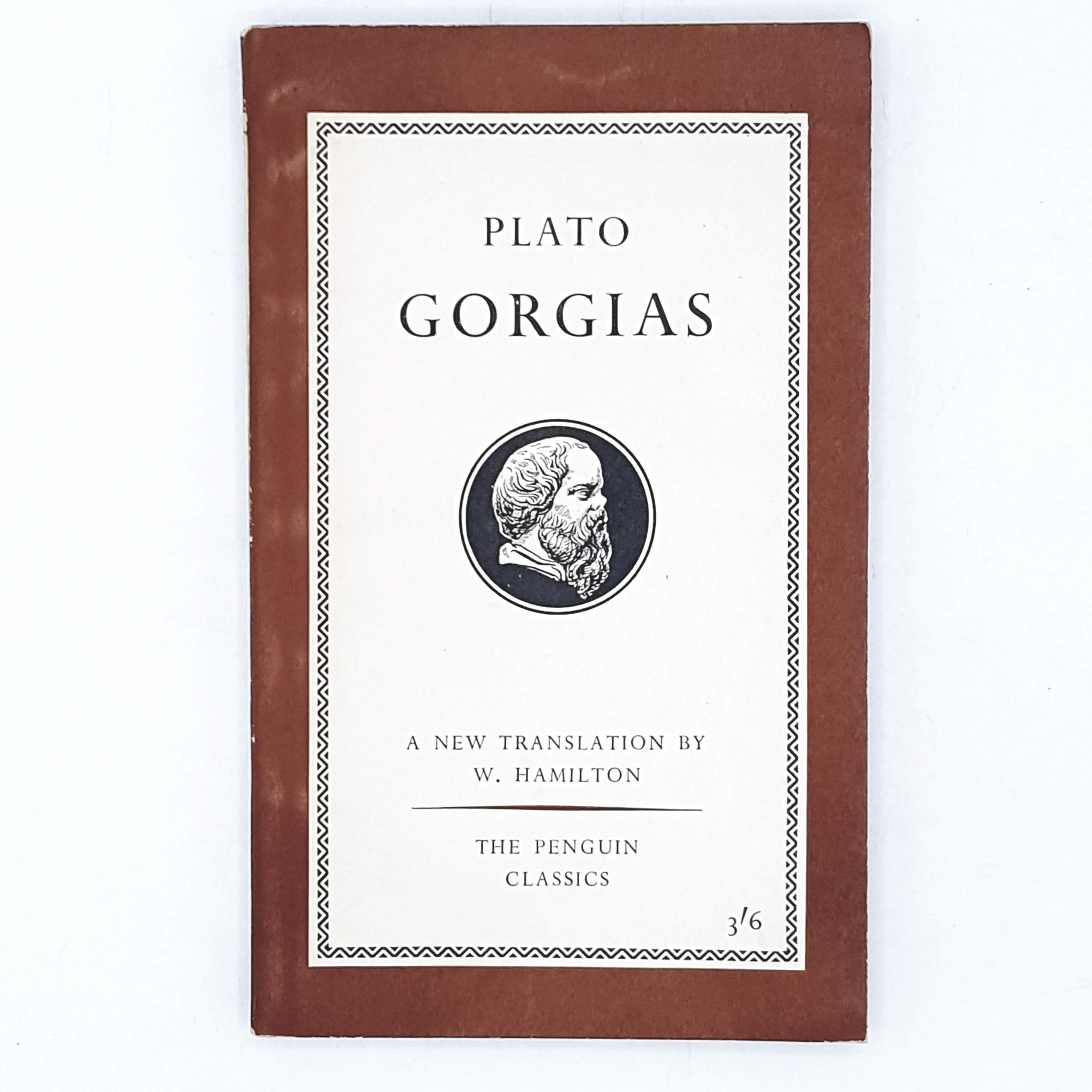 First Edition Penguin: Plato's Gorgias 1960