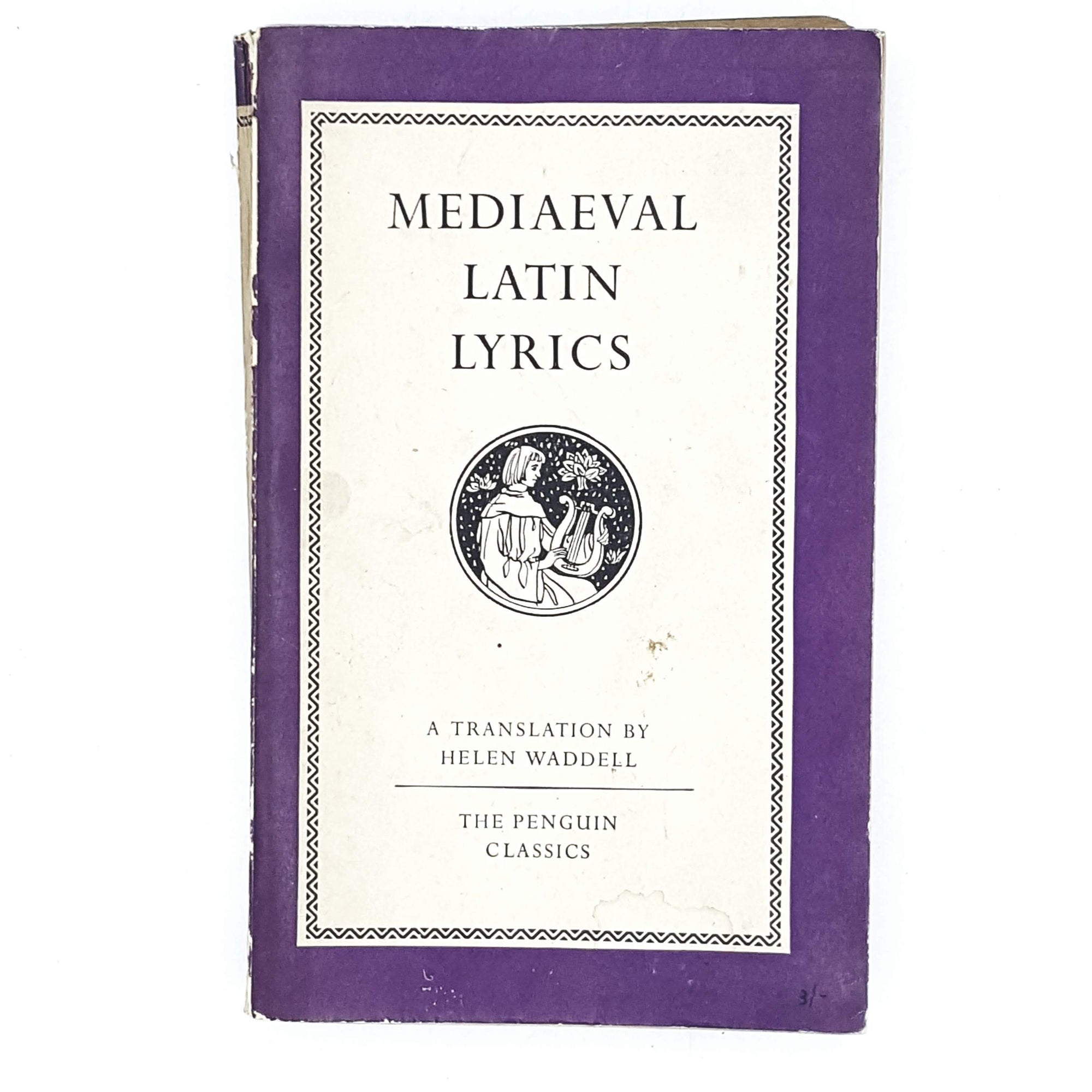 Vintage Penguin Mediaeval Latin Lyrics 1952