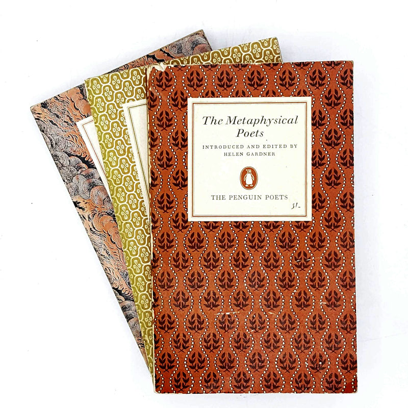 Collection Penguin Poetry geometric set 1961 - 1970