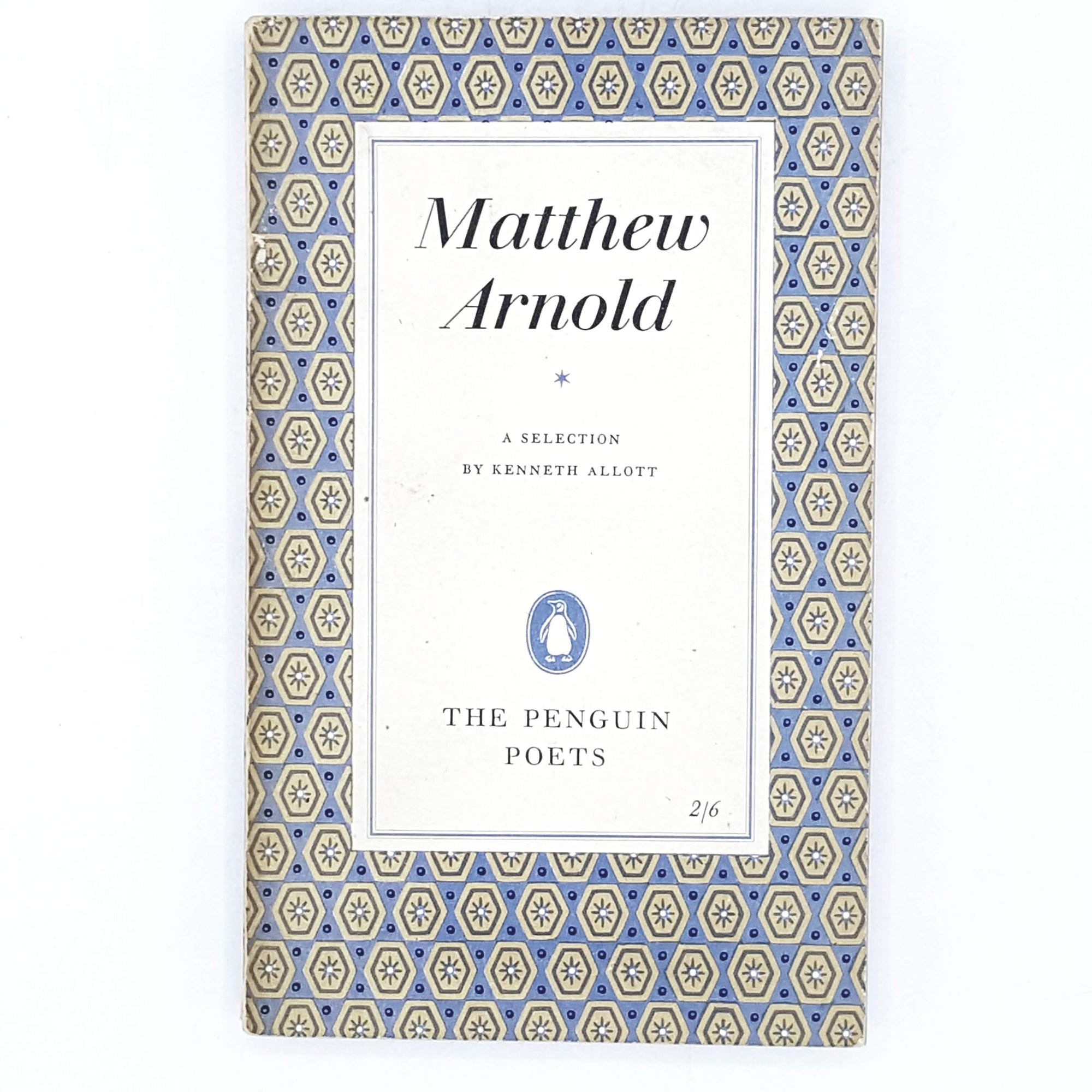 penguin-geometric-blue-matthew-arnold-poetry