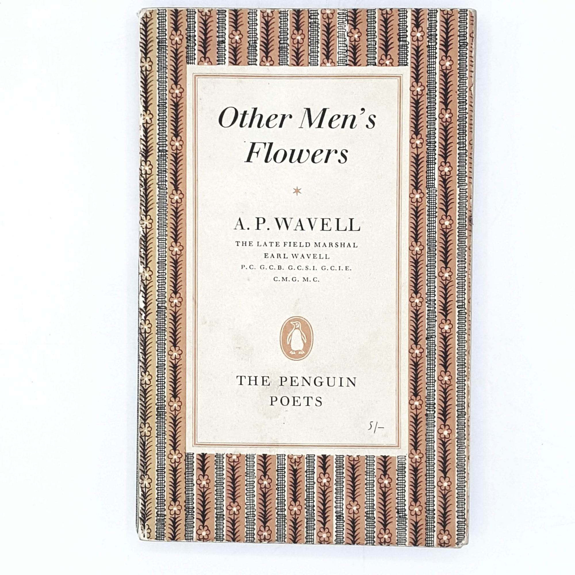 Vintage Penguin Other Men's Flowers by A. P. Wavell 1960