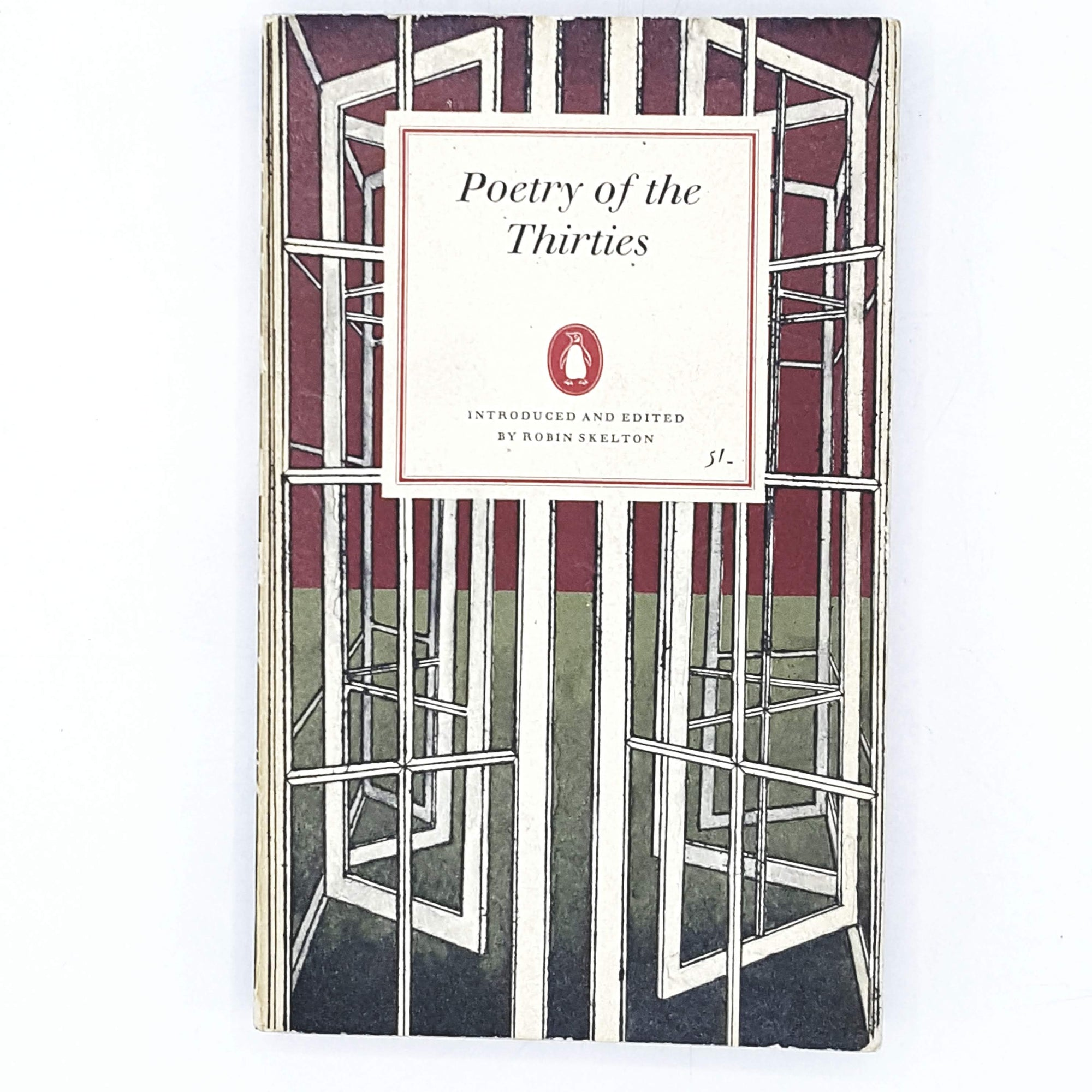 First Edition Penguin Poetry of the Thirties 1964