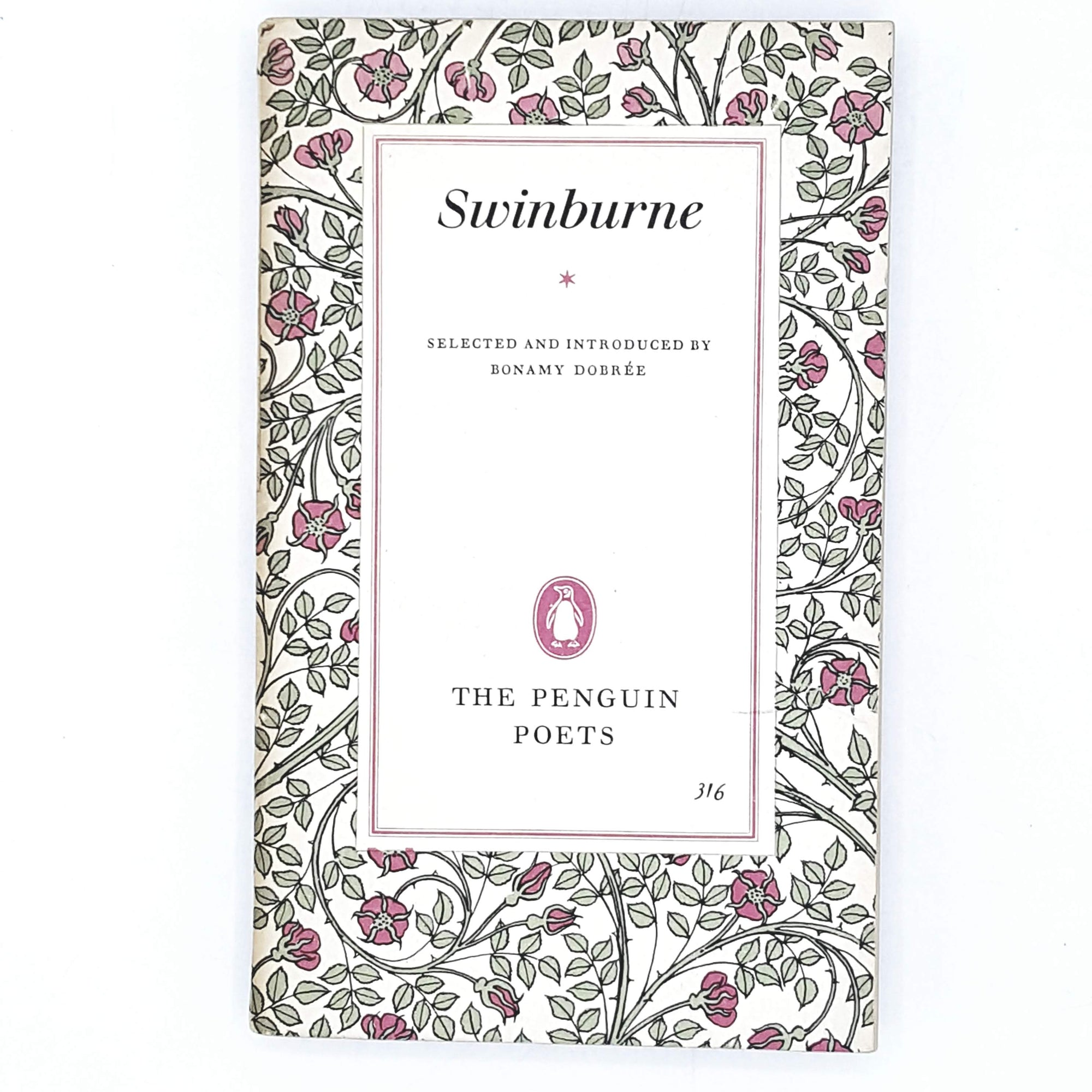 First Edition Penguin Swinburne 1961