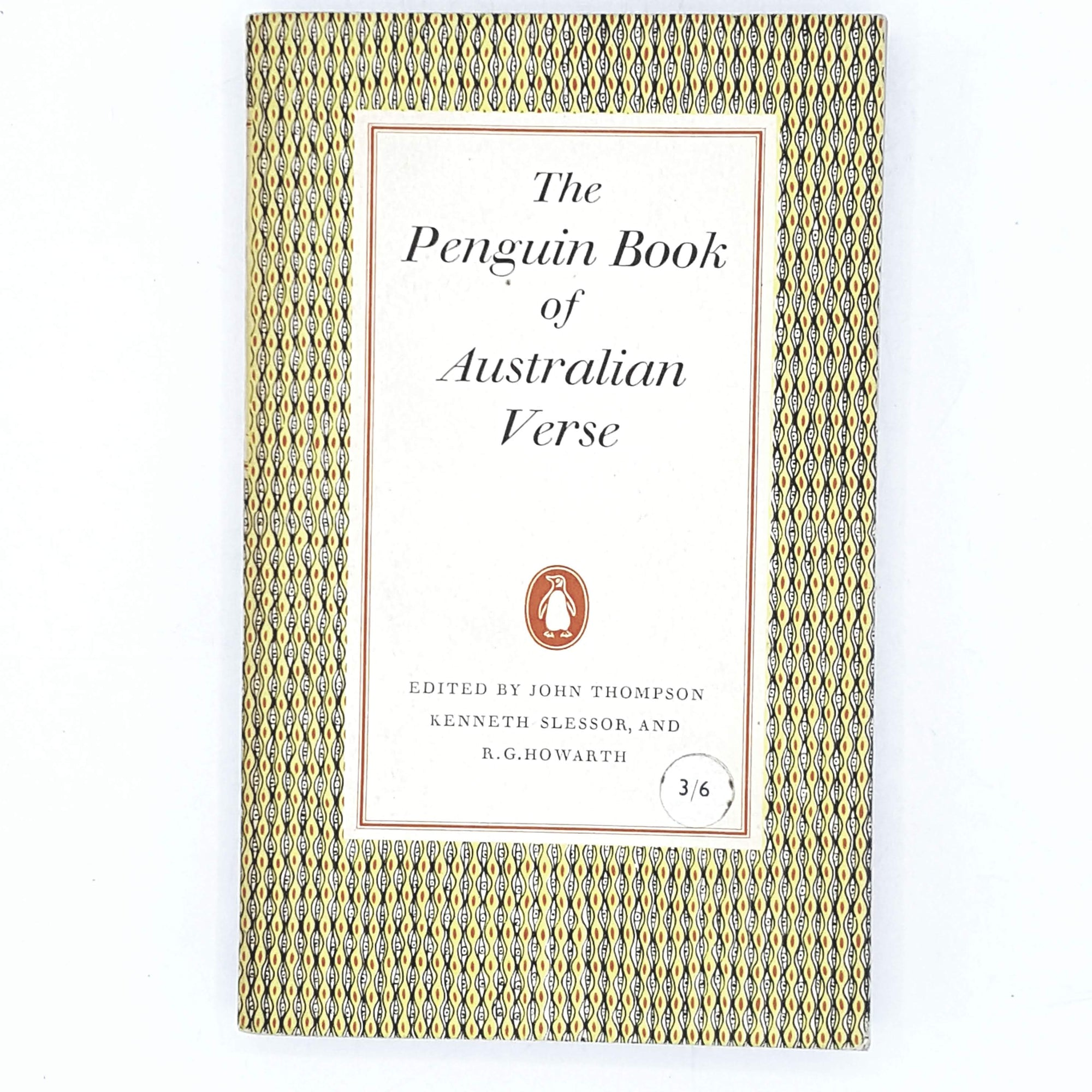 First Edition Penguin Book of Australian Verse 1958