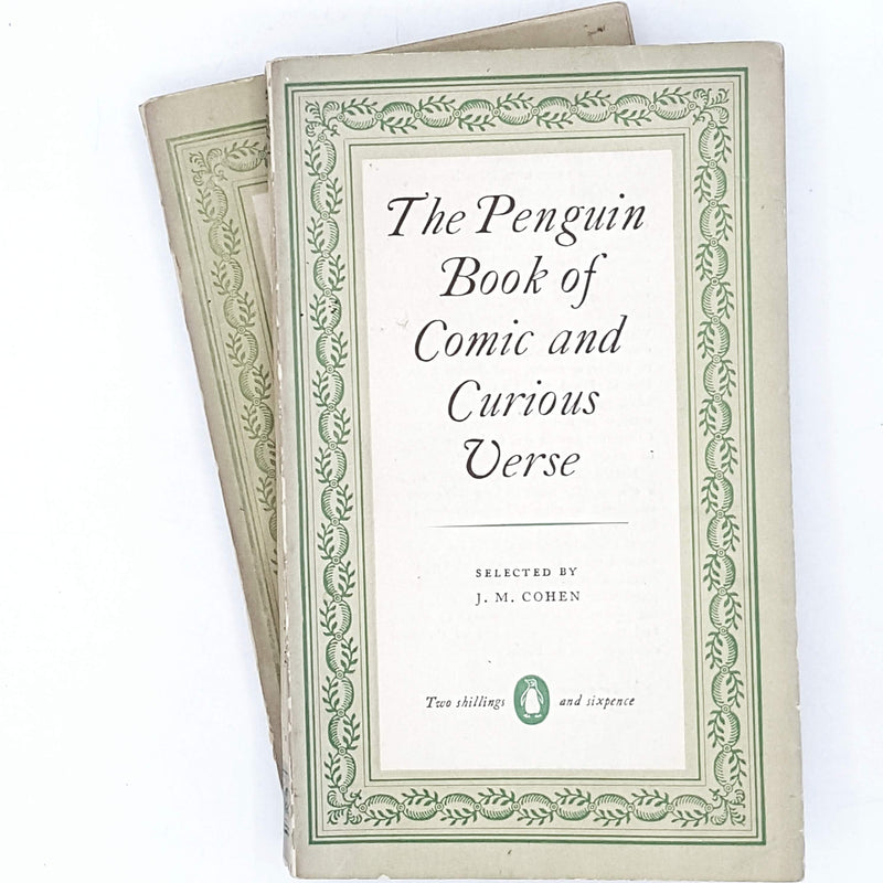 Collection Vintage Penguins: Comic and Curious Verse and Contemporary Verse 1953 - 1954