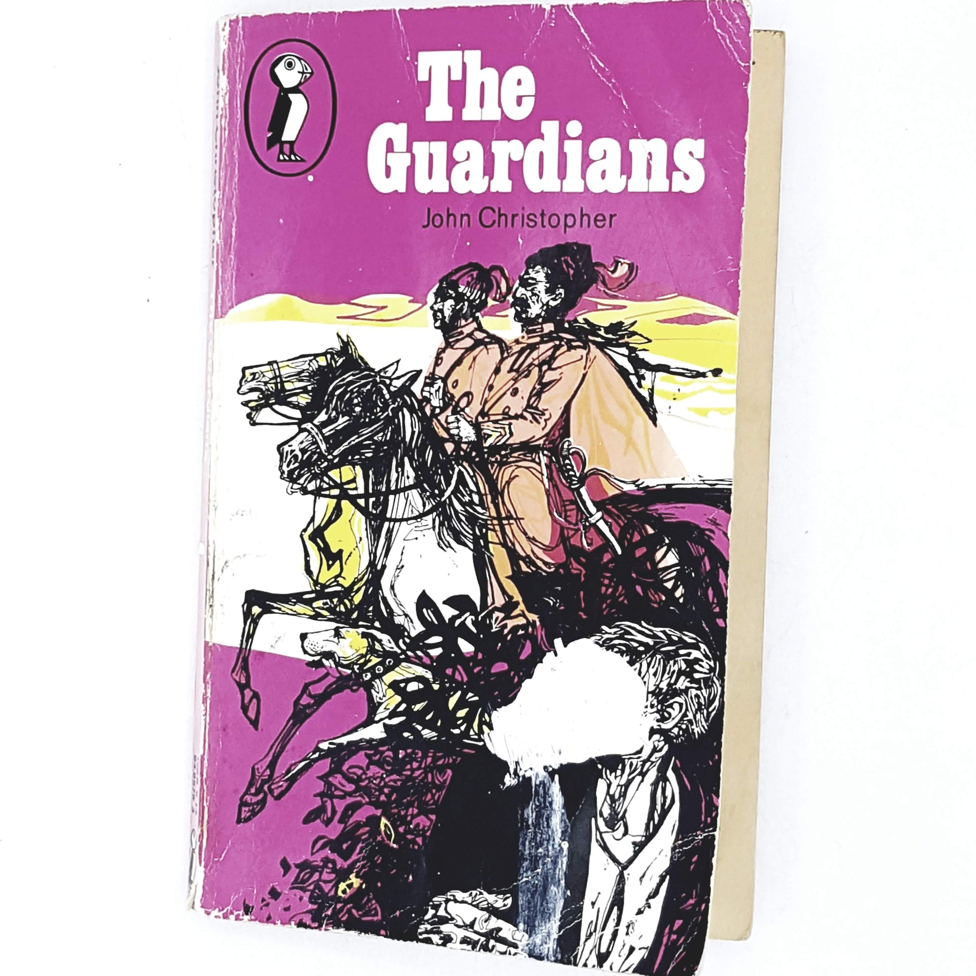 Vintage Puffin John Christopher's The Guardians