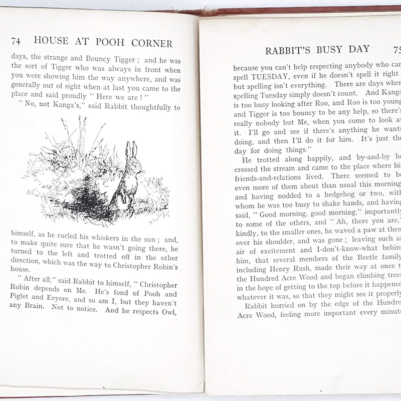 pink-winnie-the-pooh-antique-book-first-edition
